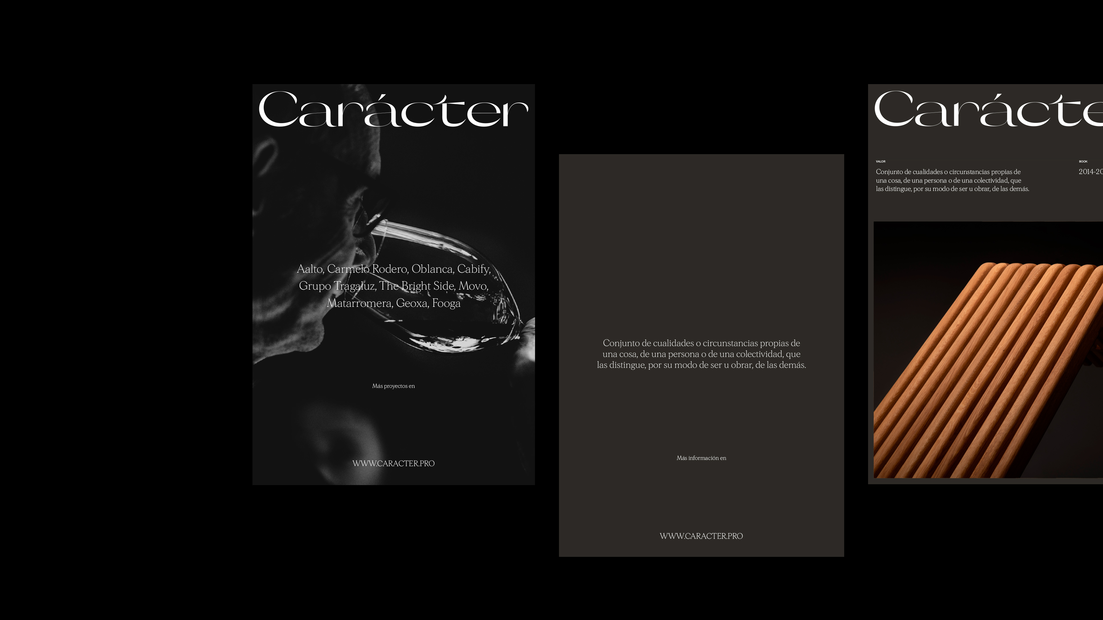 Branding for Carácter – Created by Azote Studio