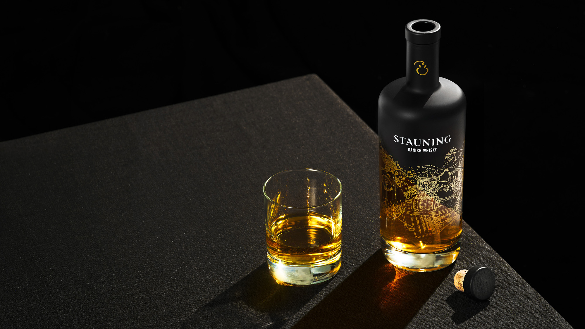 Modern Stauning Danish Whisky Brand and Packaging Design Created by Everland