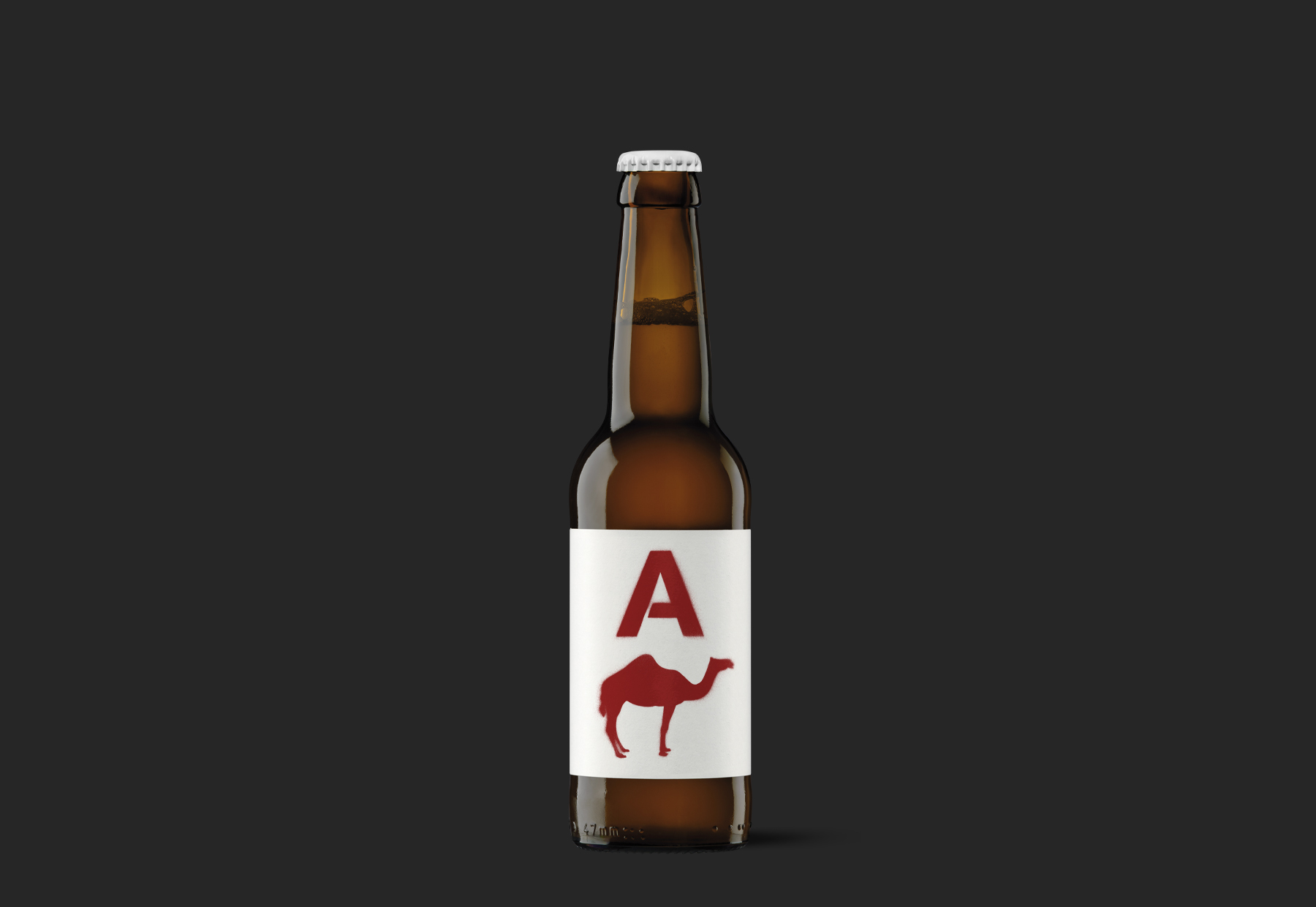 Parking Beer the Garage Spirit in a Bottle Designed by Moruba