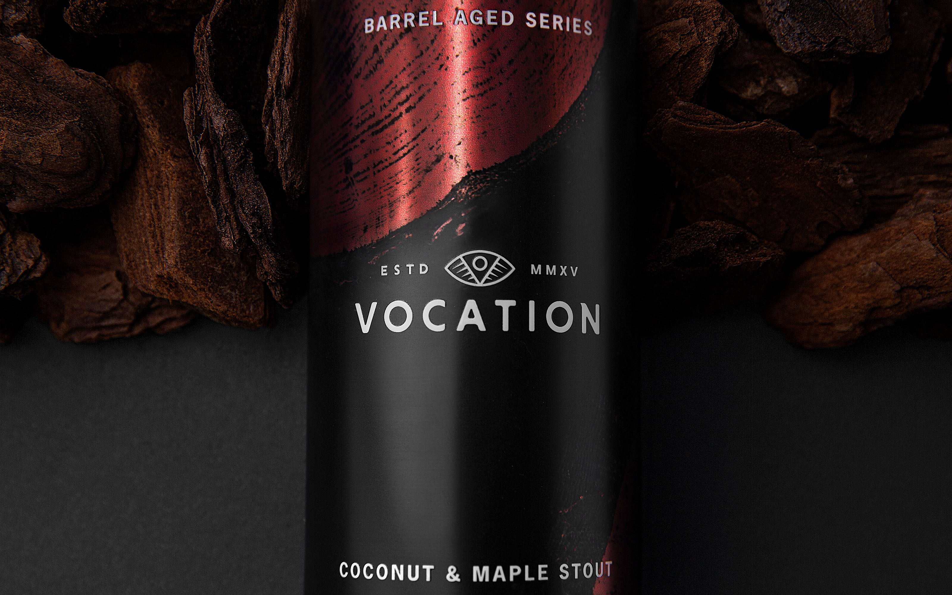 Robot Food Design Vocation Brewery's Barrel Aged Series