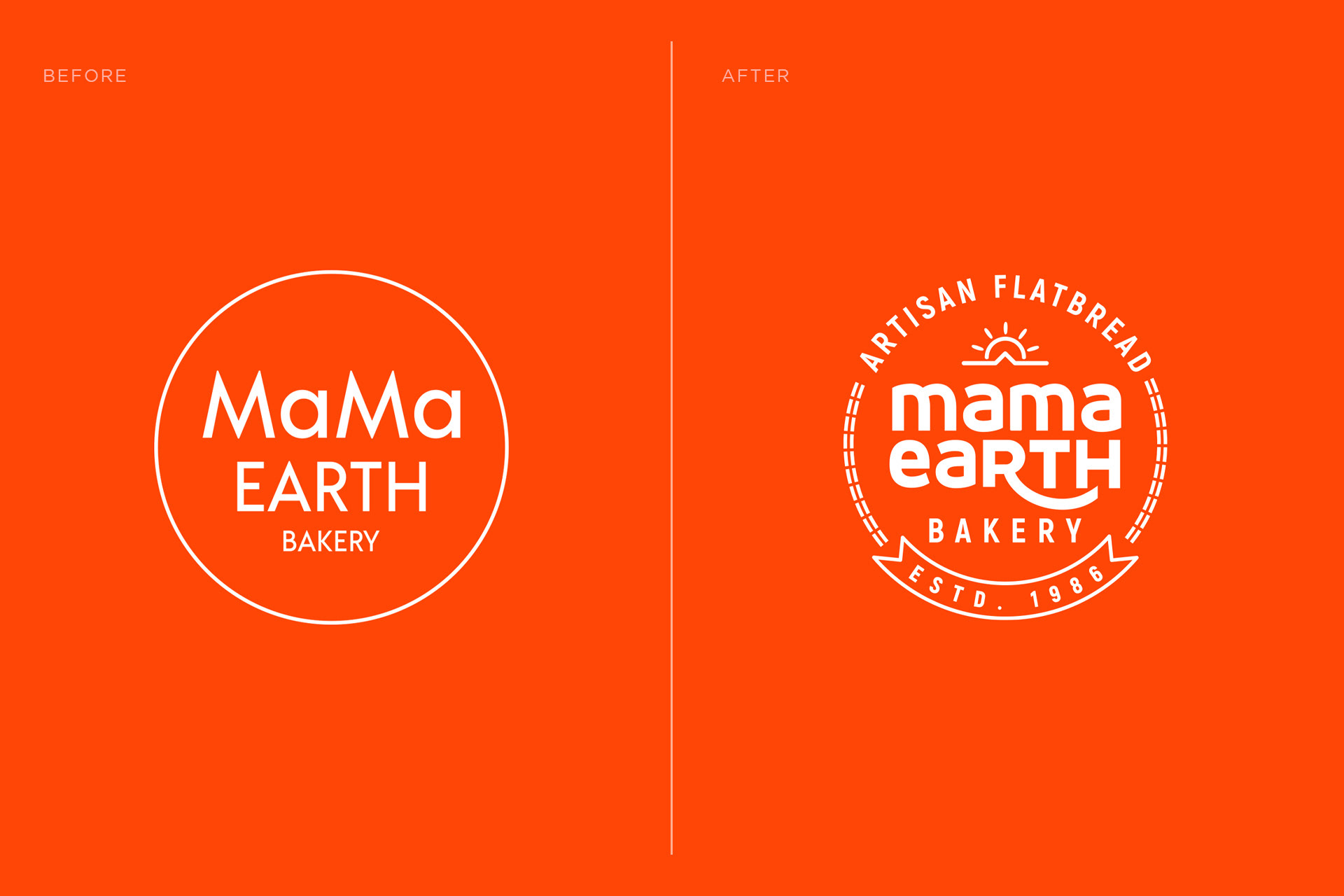 Logo Redesign for Mama Earth Bakery Created by Almosh82