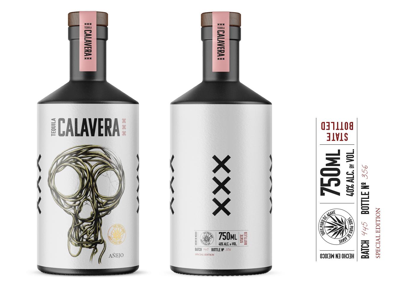 Elephant Estudio Create Tequila Calavera Concept