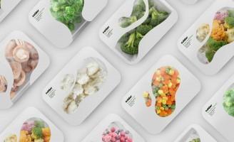 Colder – Frozen Food Packaging Design Concept by Maria Kazanova