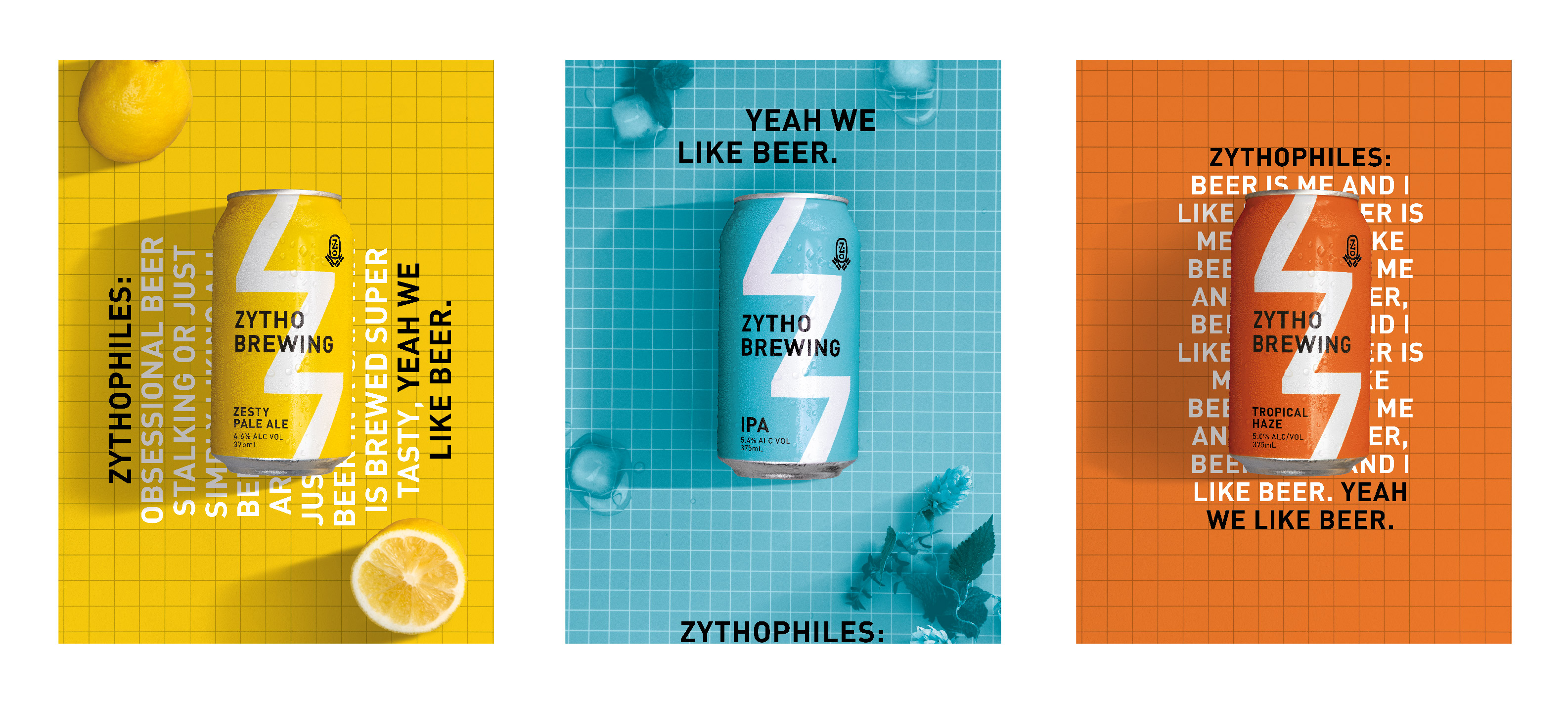 New Old Name For Beer Lovers, Zytho Brewing by Creative Platform