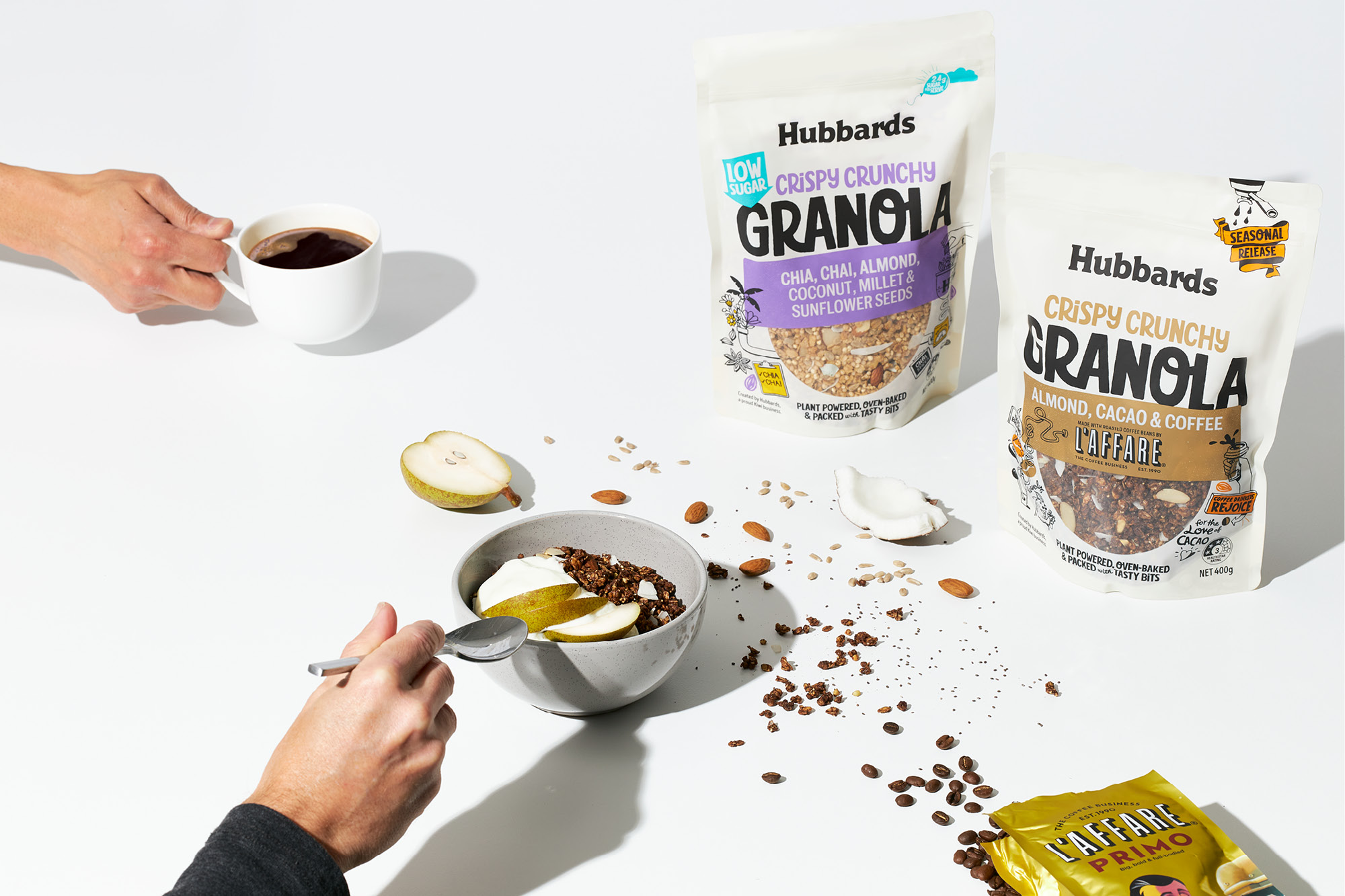 Granola for the Ever Curious Inventive Consumer Designed by Onfire Design