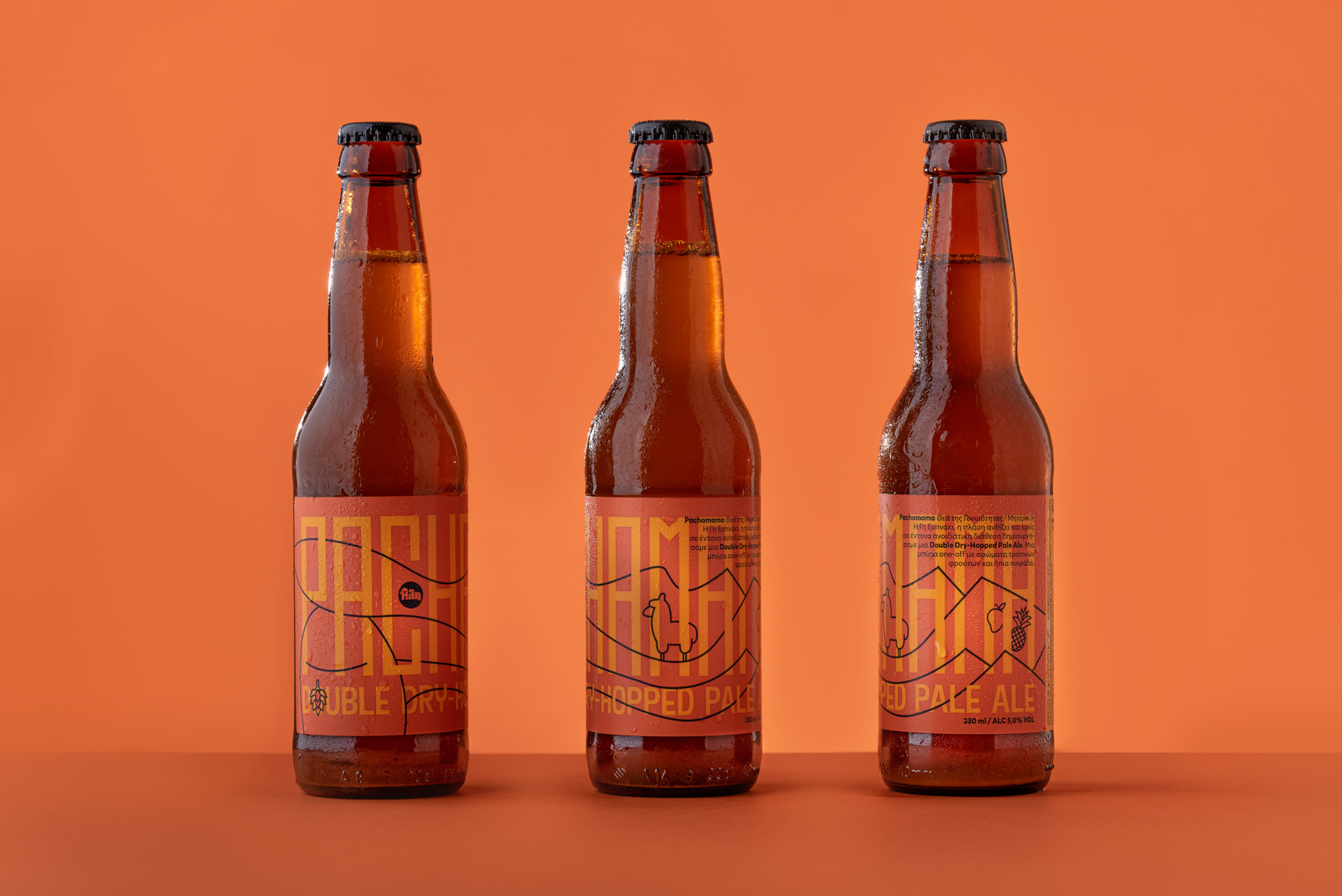 An Andes Inspired Beer for Ali Microbrewery Created by Slab Design Studio