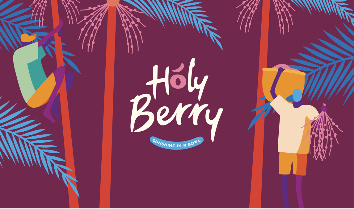 Holy Berry Belgian Food Start-Up Packaging Design by DesignRepublic