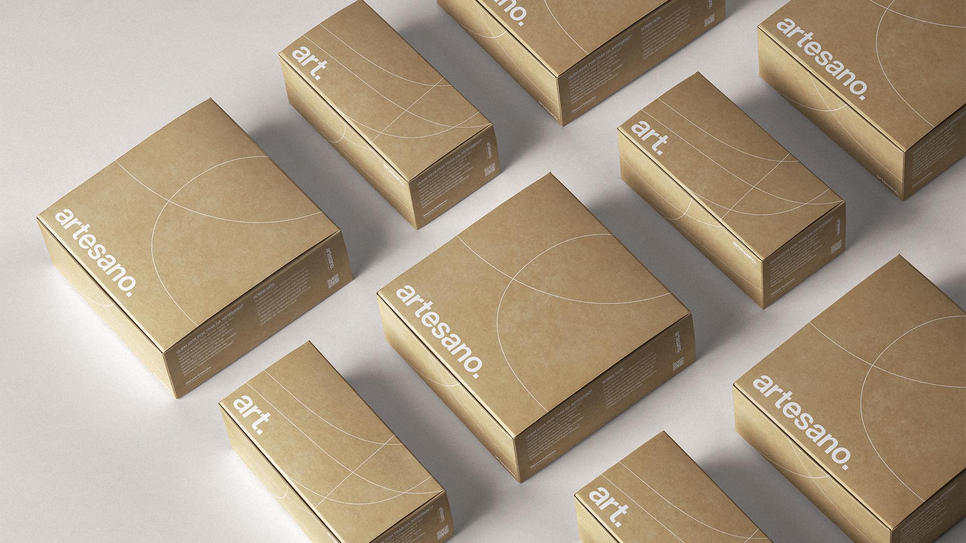 Artesano Rebrand and Packaging Design Designed by Miguel Vaz