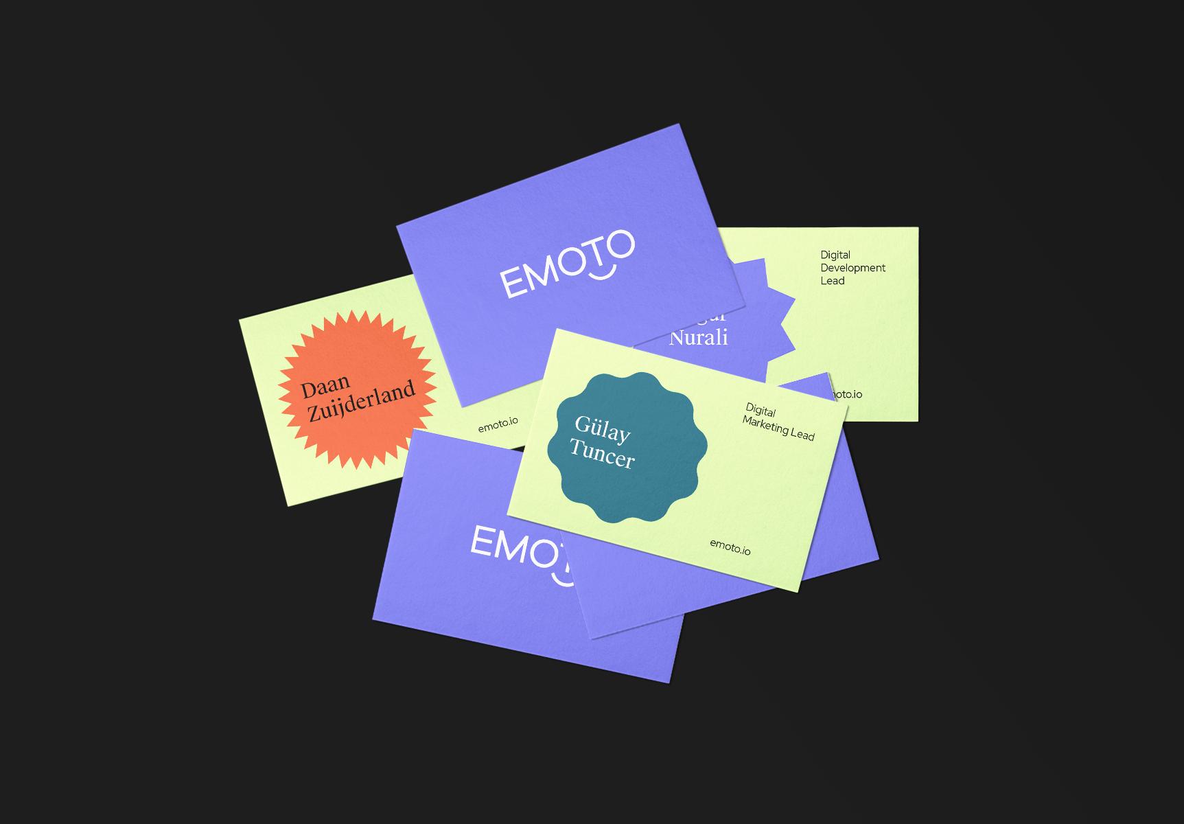Dobarro Bello Creates Brand for Emoto Digital Agency