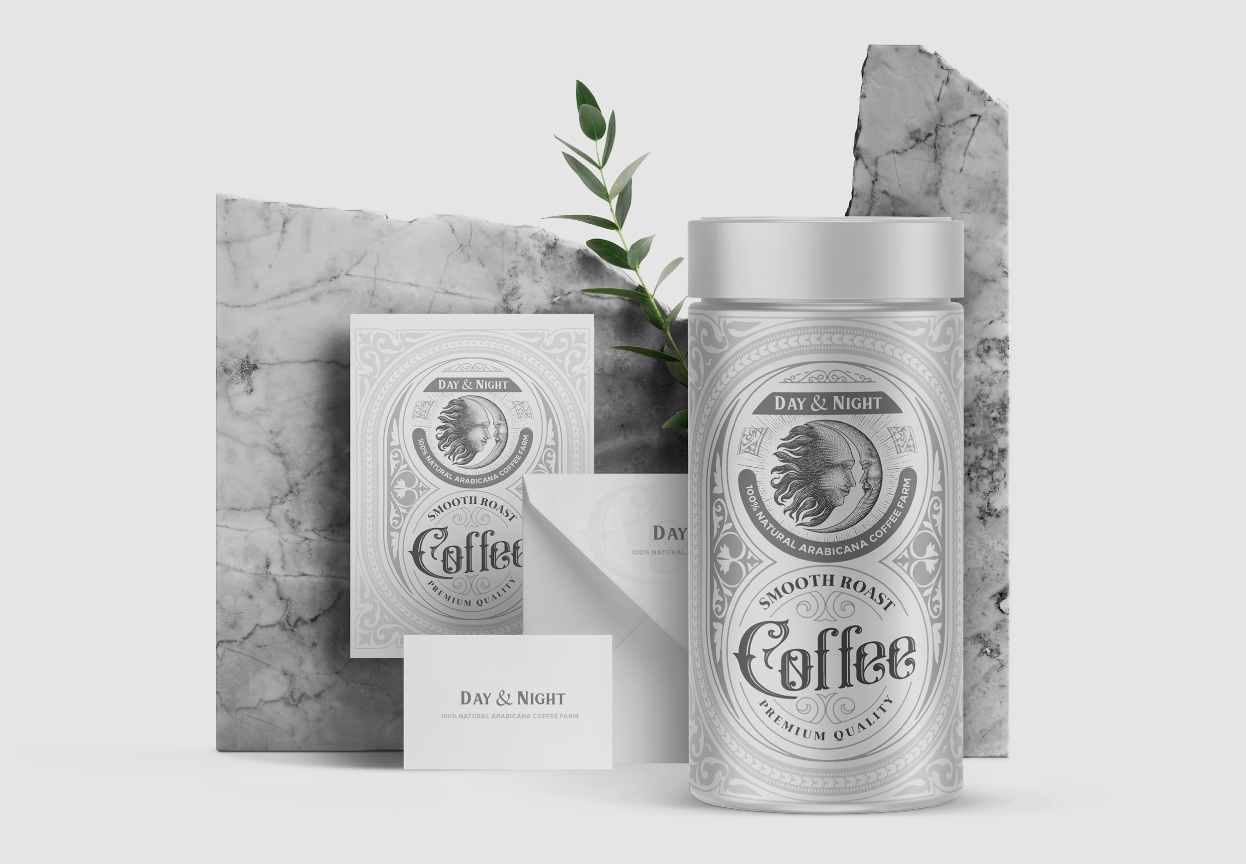 Day & Night Coffee Packaging By Studio Metis