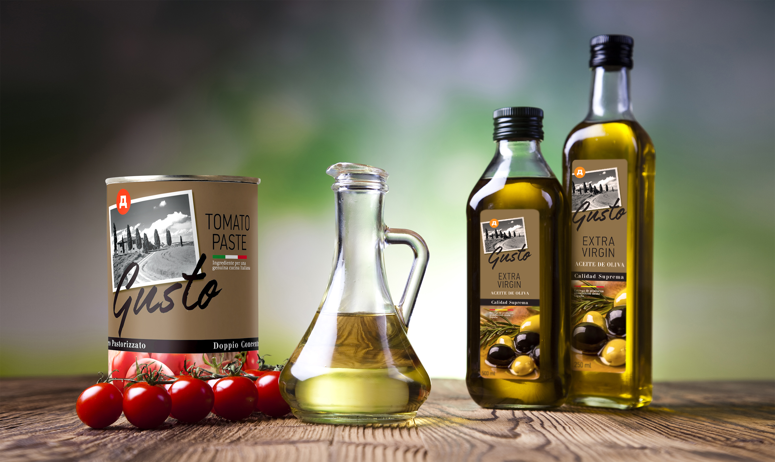 Clёver Branding for Dixy Groups' D-Gusto Mediterranean Private Label Product Range