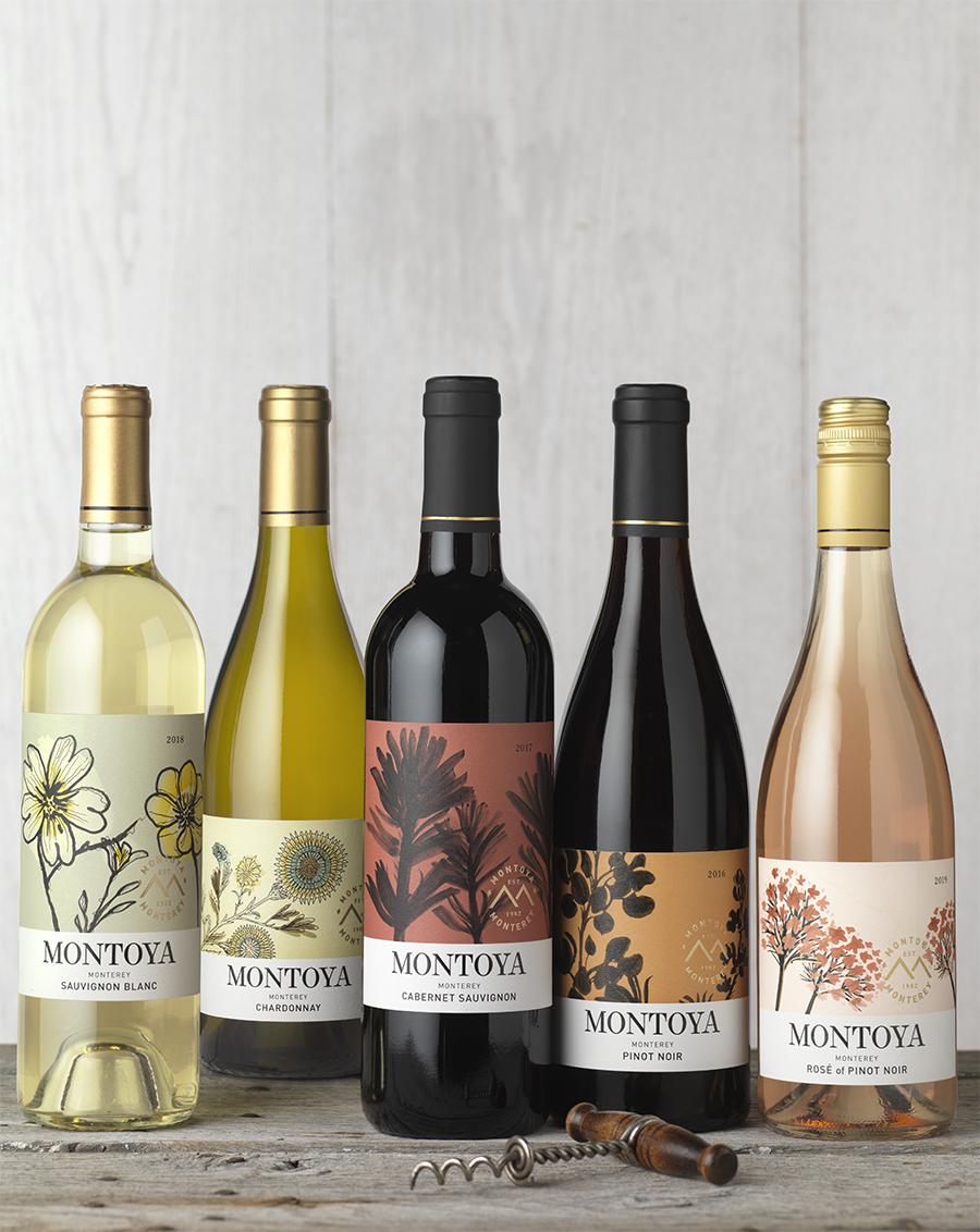 CF Napa's Redesign for Montoya Blooms Wines