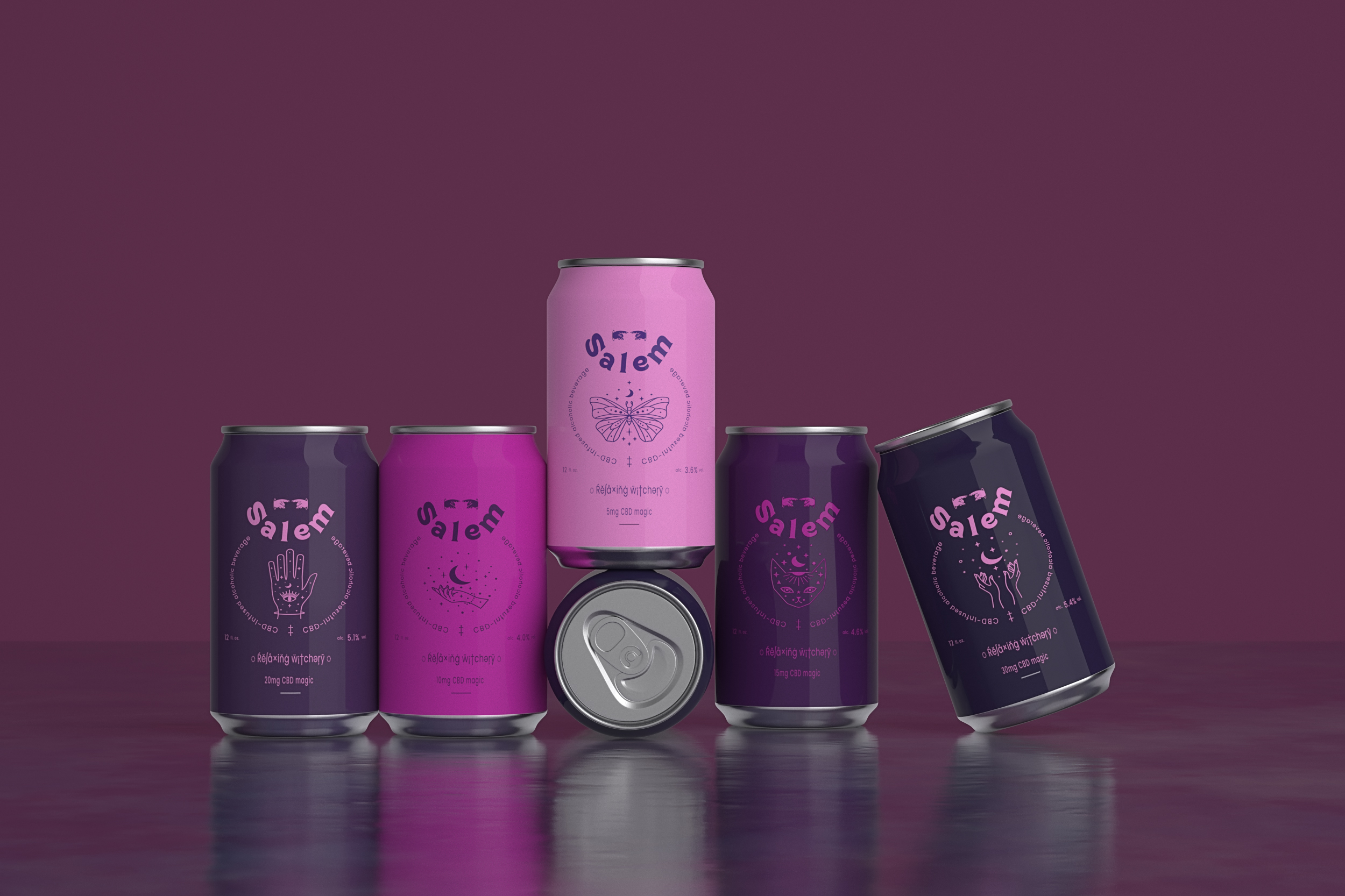 CBD-infused Beverages Salem by Studio Blackthorns