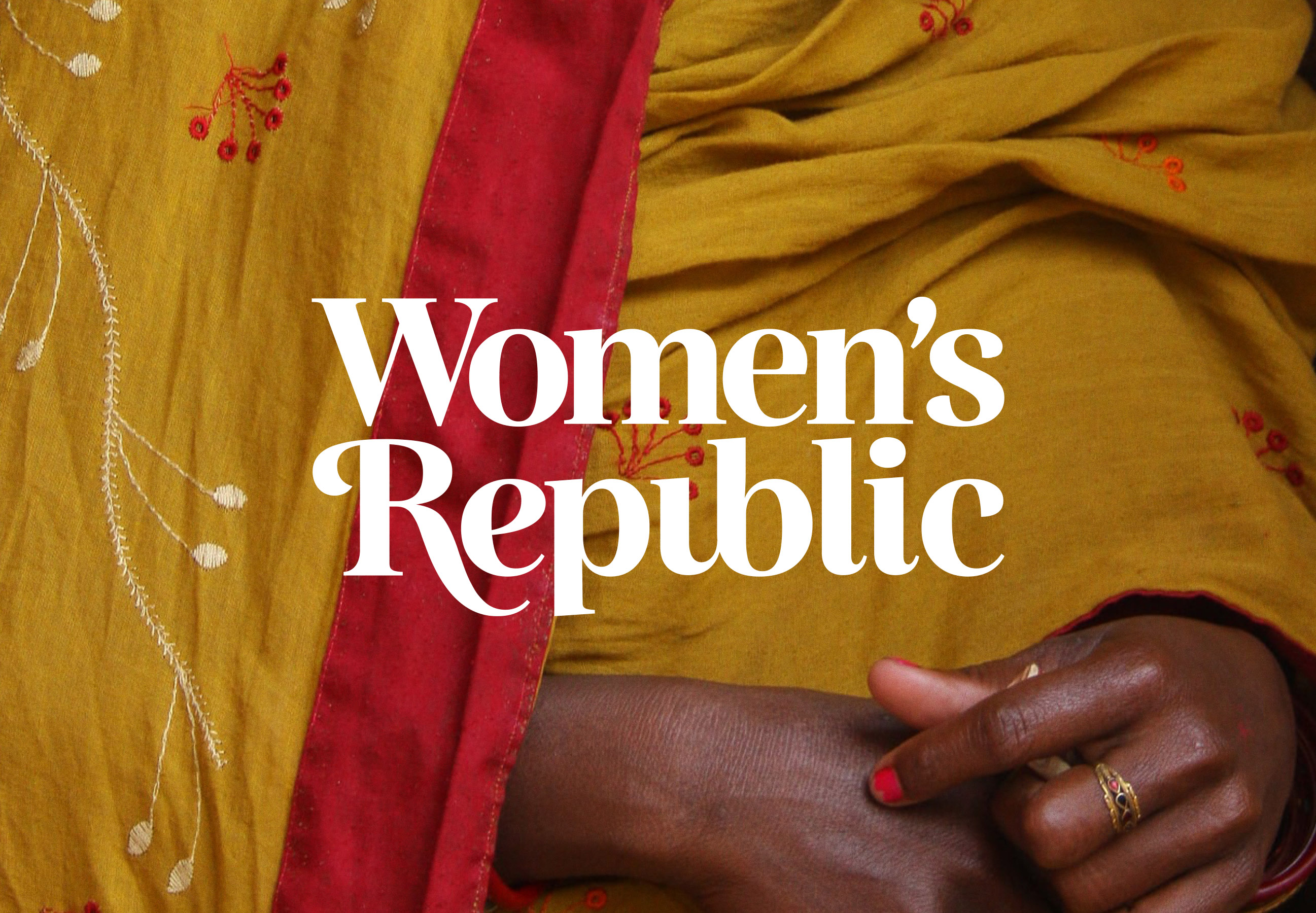 Visual Identity for Women's Republic Designed by Imran Latheef