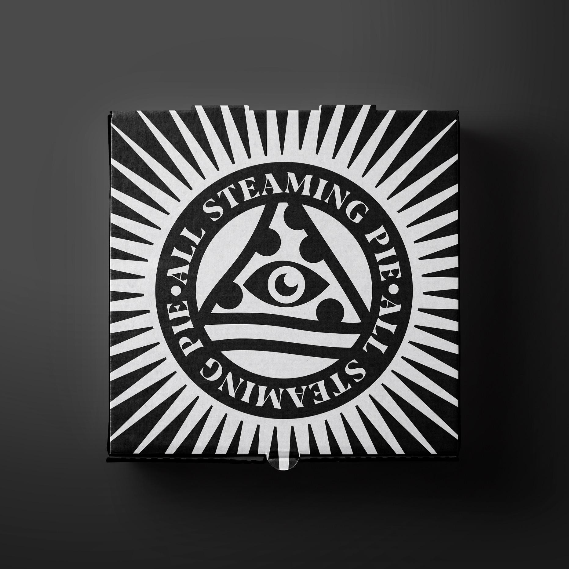 Illuminati Pizza and The All Steaming Pie Concept