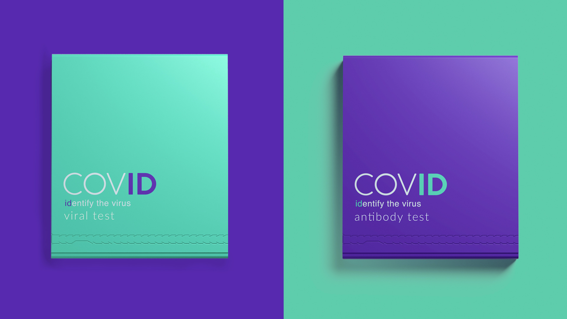 COVID-19 Home Testing Kit Concept Designed by JDO