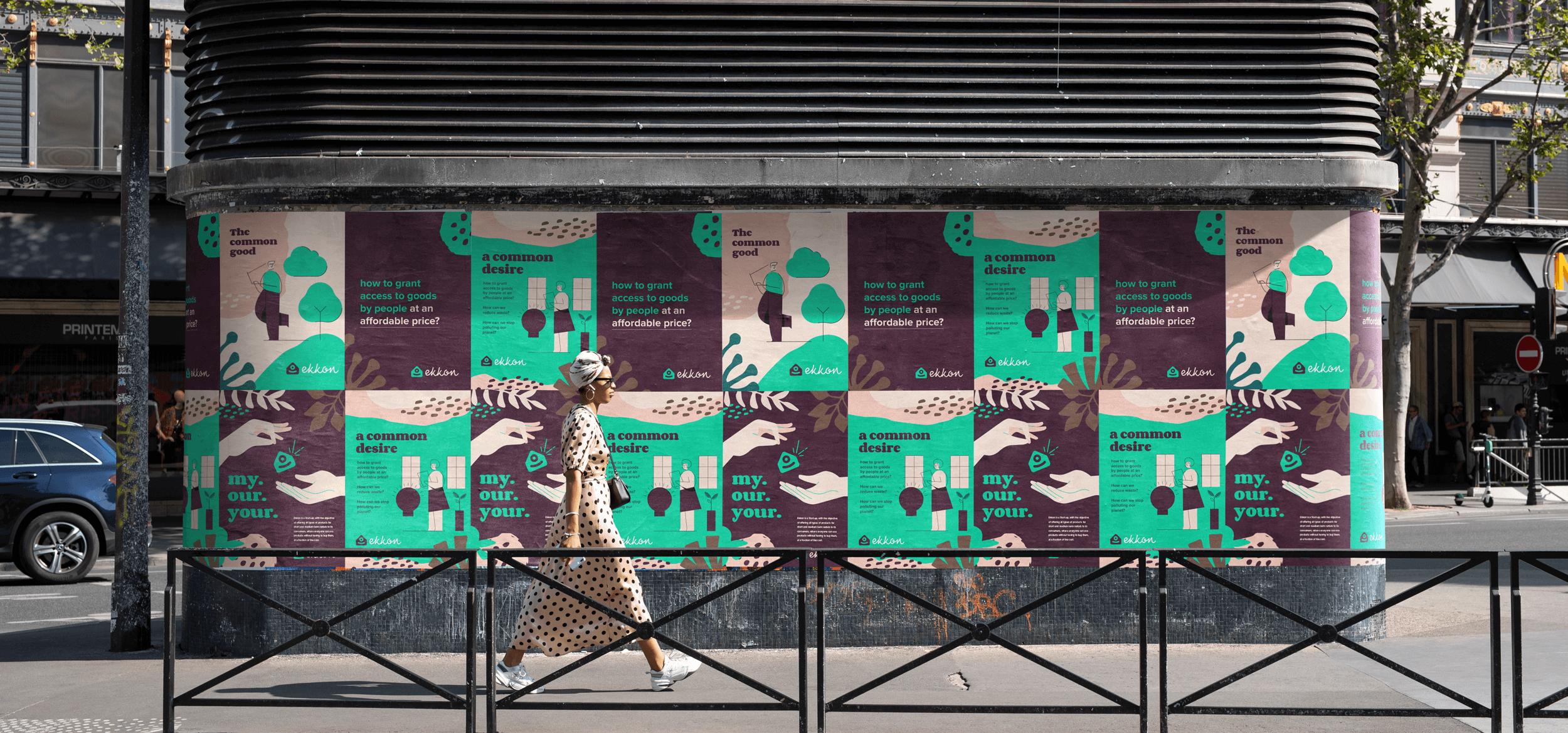 Visual Identity for Italian Startup Ekkon Designed by Estúdio Kuumba