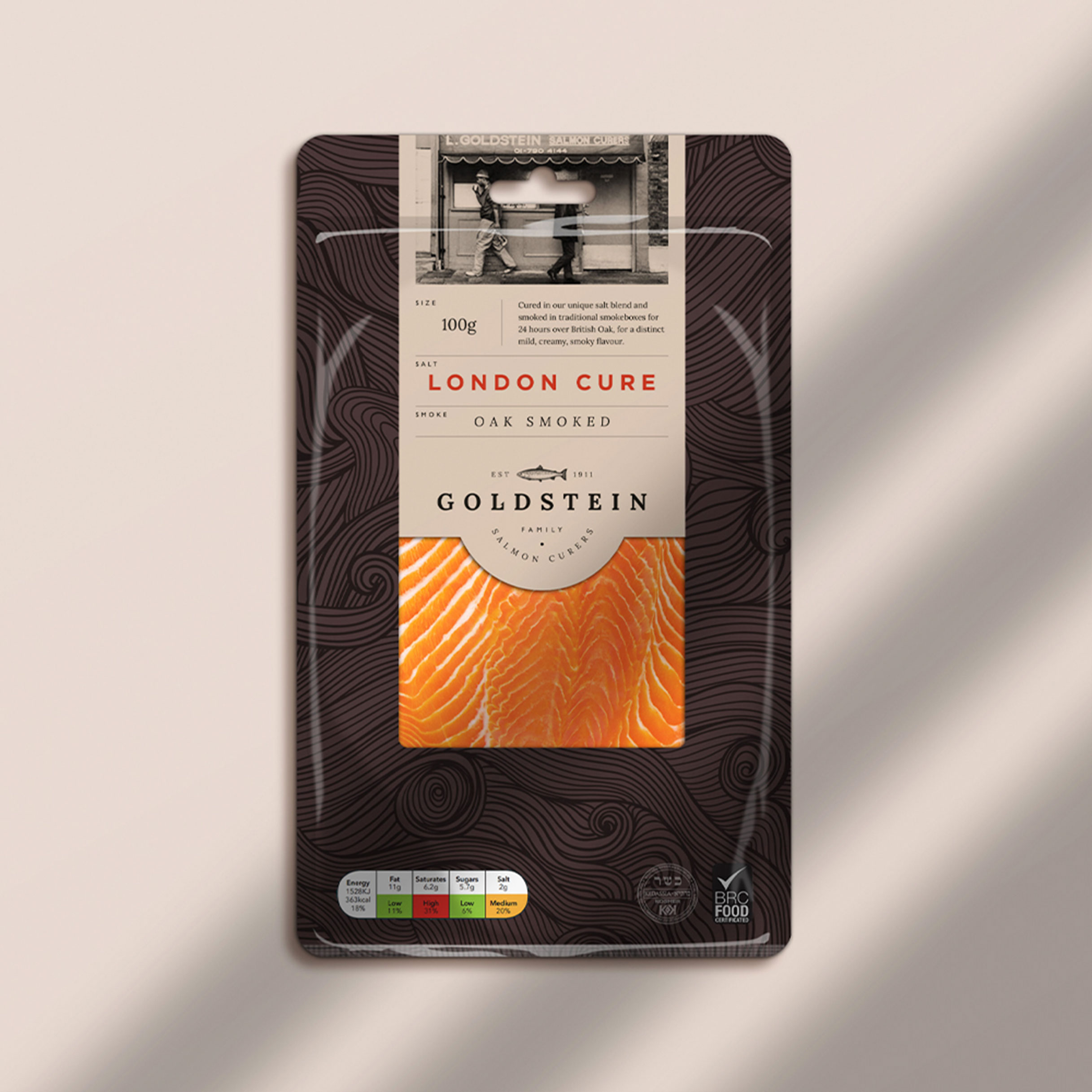 Briggs & Co. Rebrand for London's Oldest Salmon Curers – Goldstein Salmon