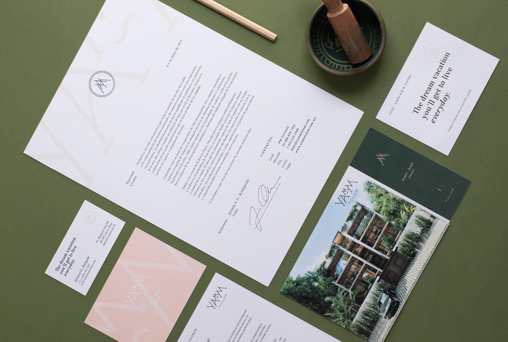 Estudio Manila Creates Branding for Yam Tulum Apartments