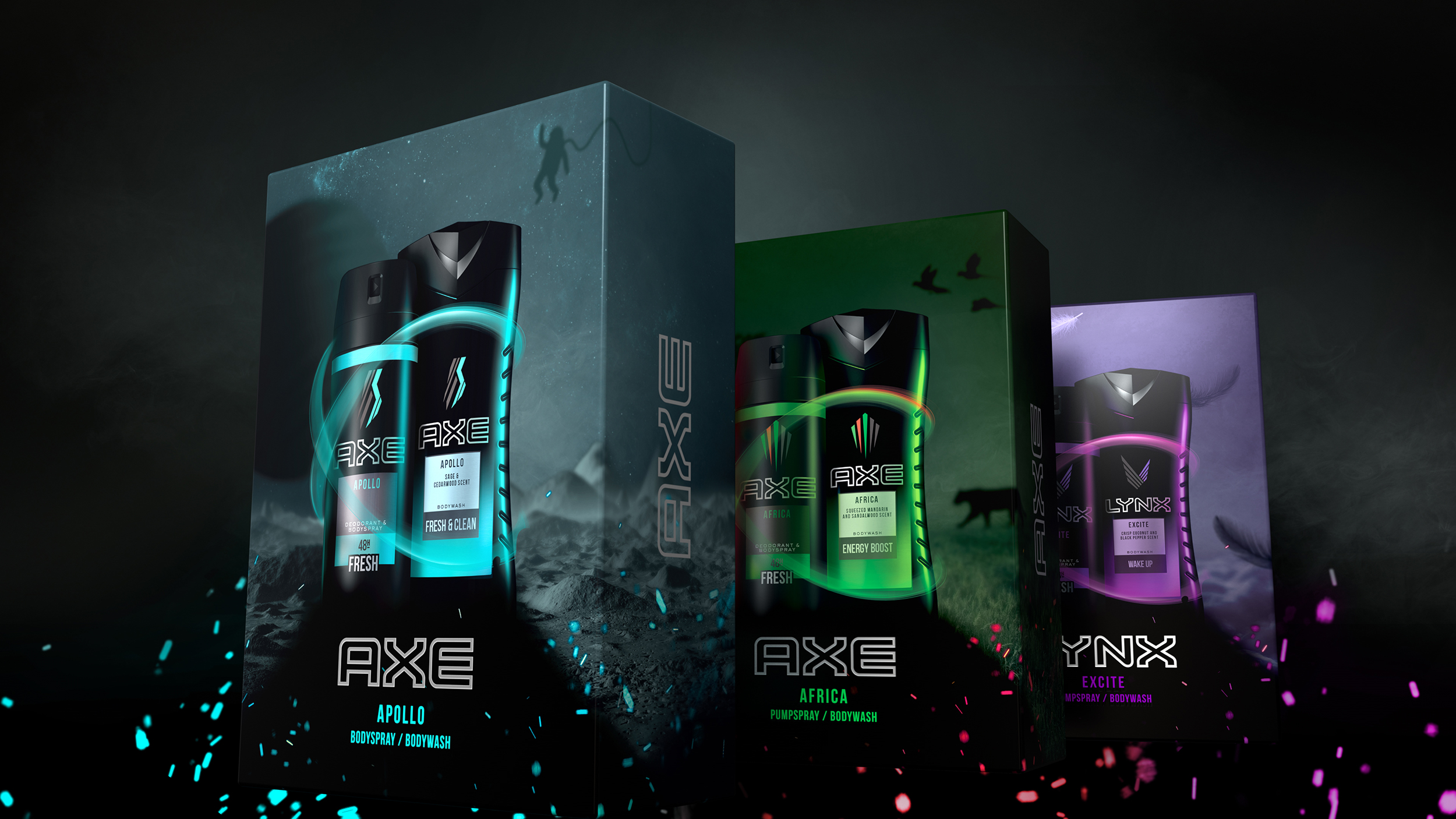 PB Creative Brings Gaming into Play for Axe this Christmas