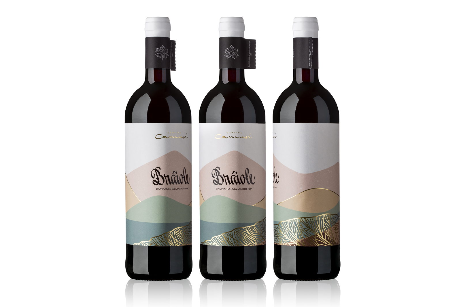 Contrada Braiole Red Wine Naming – Brand and Packaging Design by BasileADV