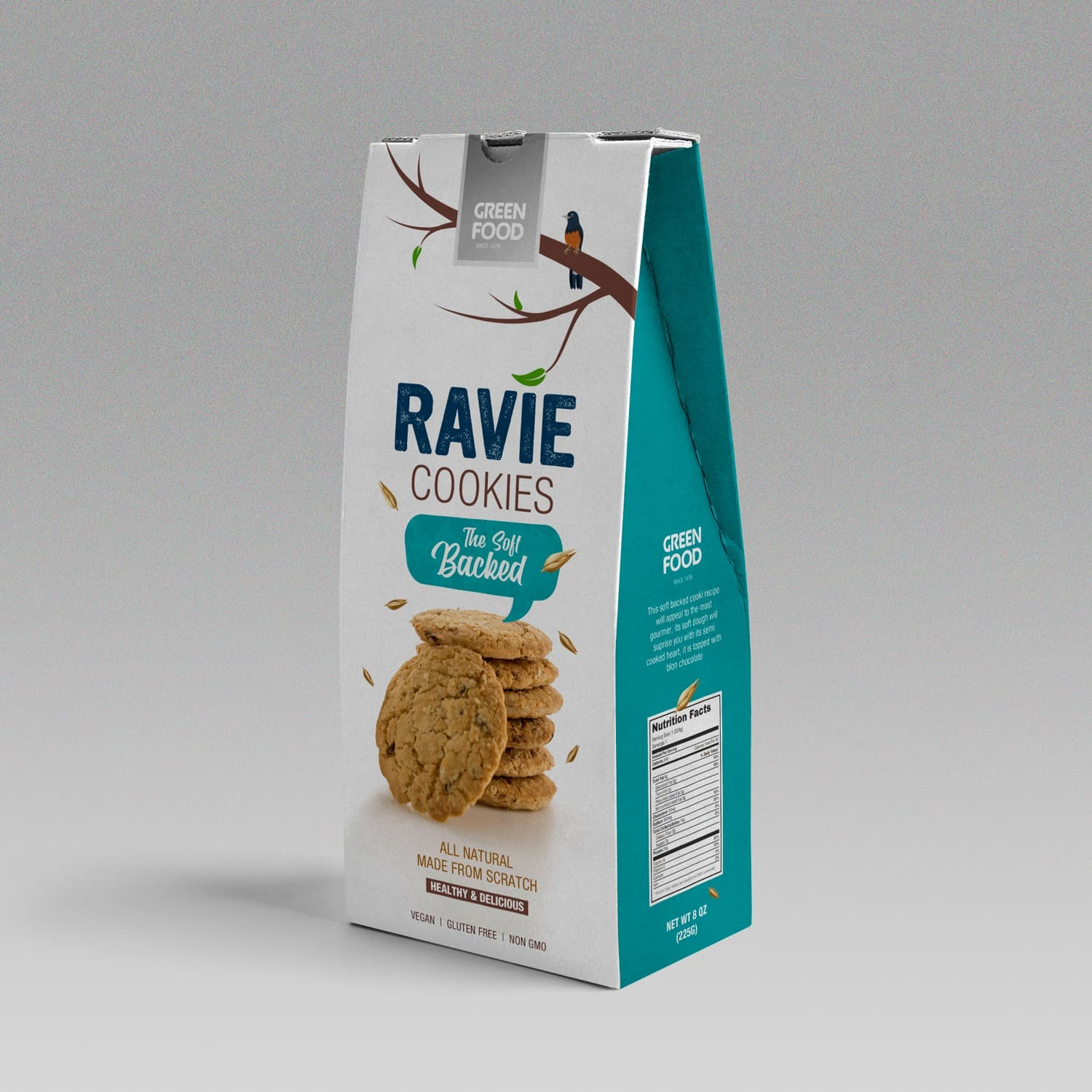 Dezio Media Solutions Create Packaging Design for Bio Cookies