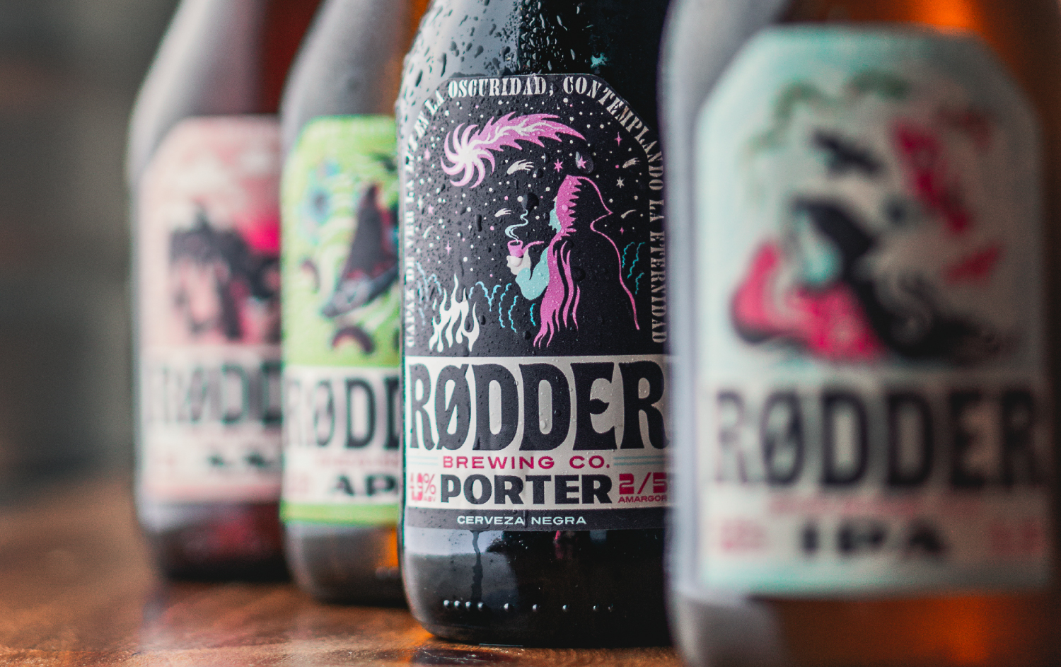 Retro Vibes On This Brand New Beer labels by Jacomy Mayne