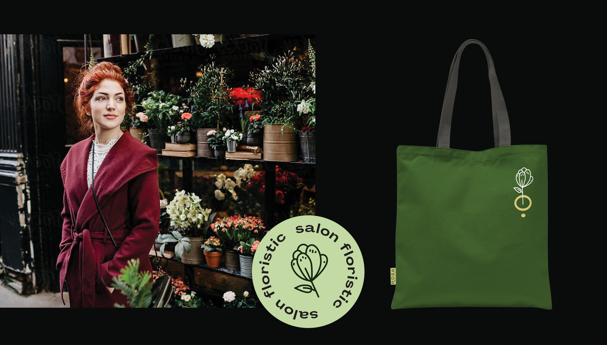 Rosa Floristic Salon Branding by Anta Design