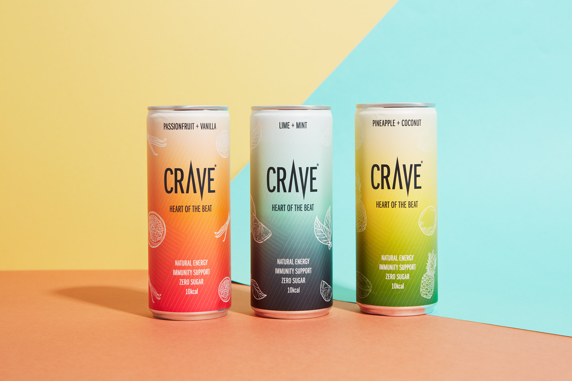 Studio Up North Develop Fresh Packaging Design for Crave's New Flavours