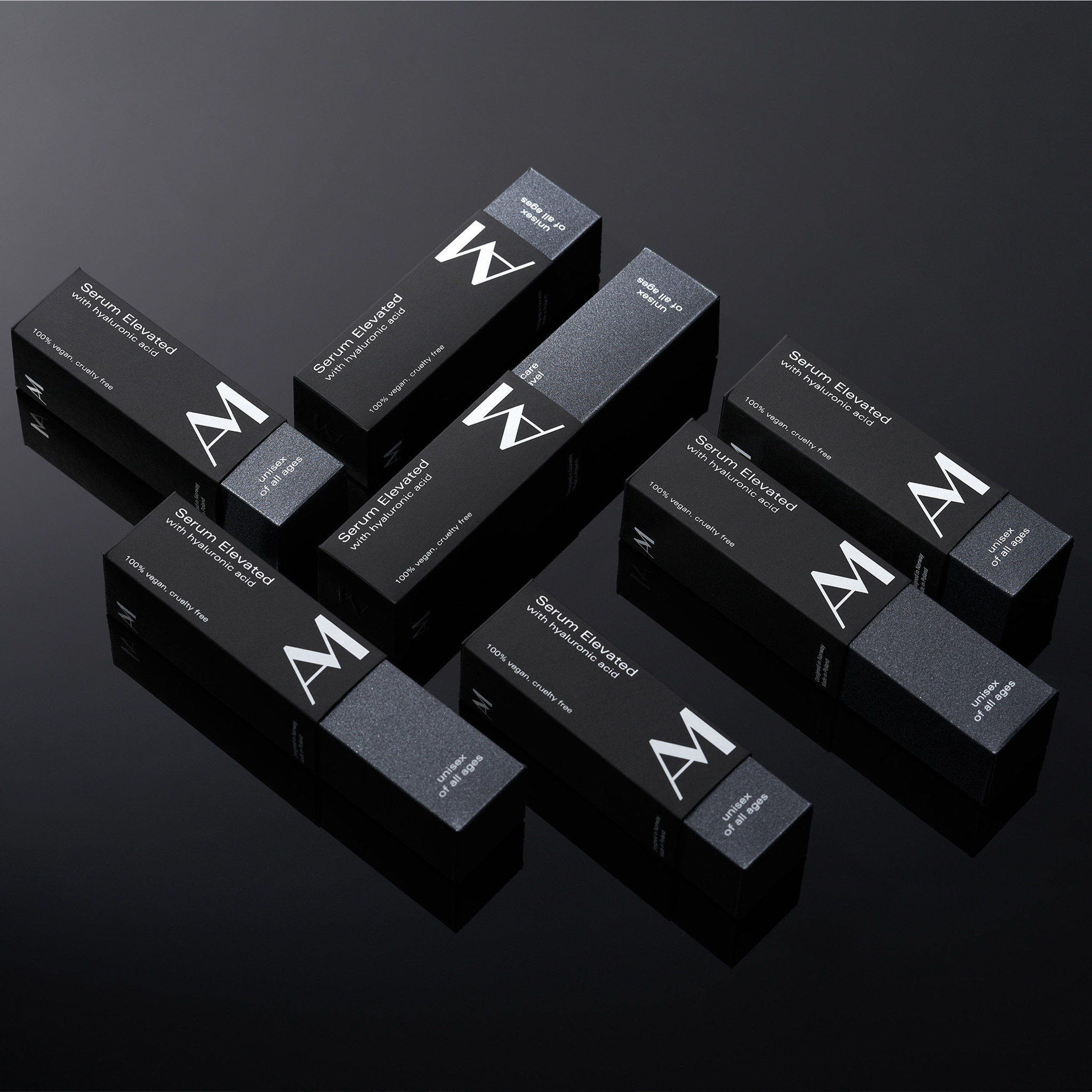 AM Serum Elevated Brand Identity and Packaging Design Created by Motyw Studio