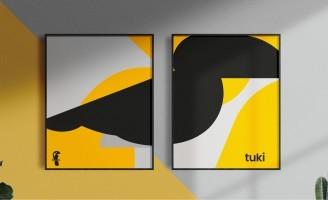 Visual Identity for Tuki Studio by Estudio Leo Tavares