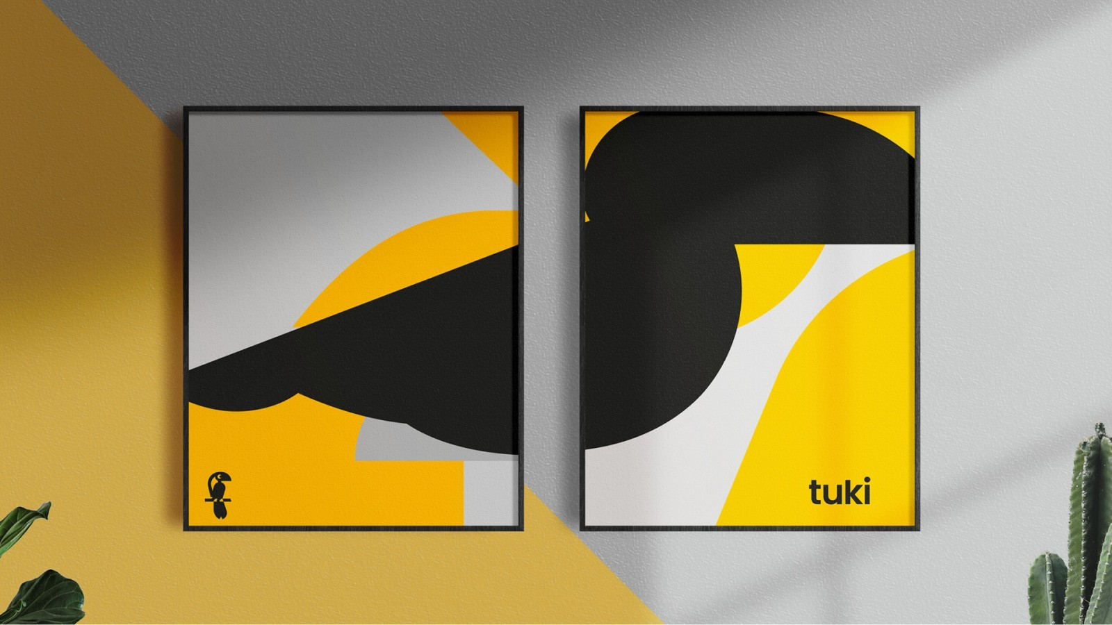 Visual Identity for Tuki Studio by Estudio Leo Tavares