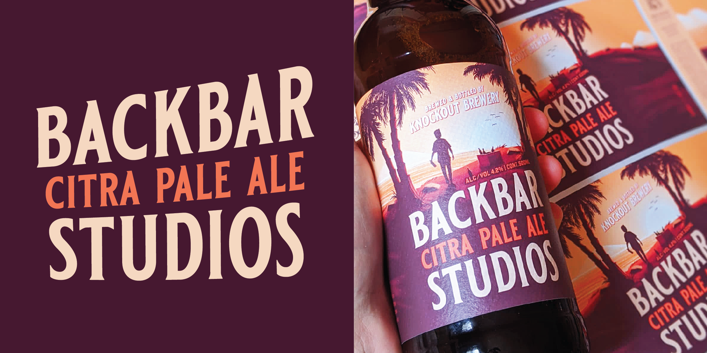 Backbar Studios Extremely Small Batch Studio Beer