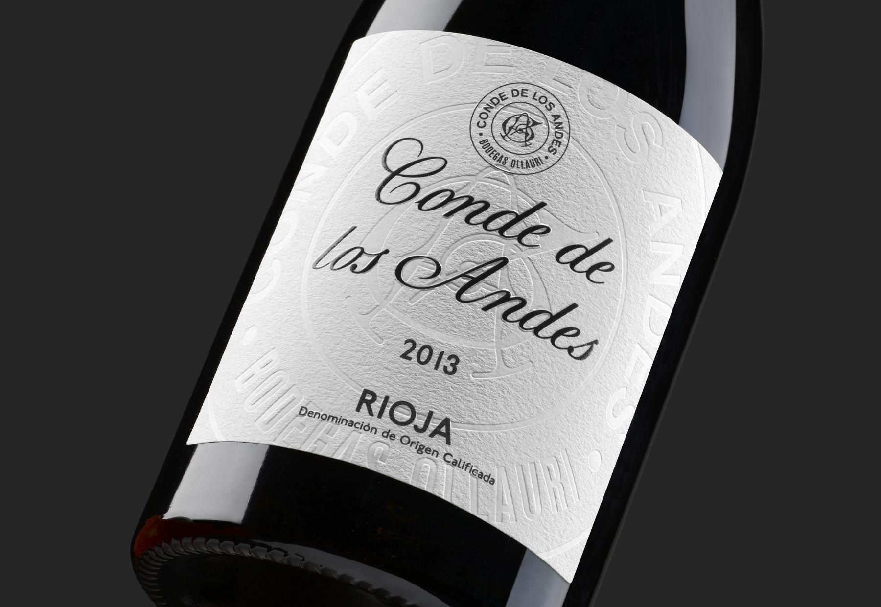 """Conde De Los Andes"" the Redesign of an Historical Rioja by Moruba"