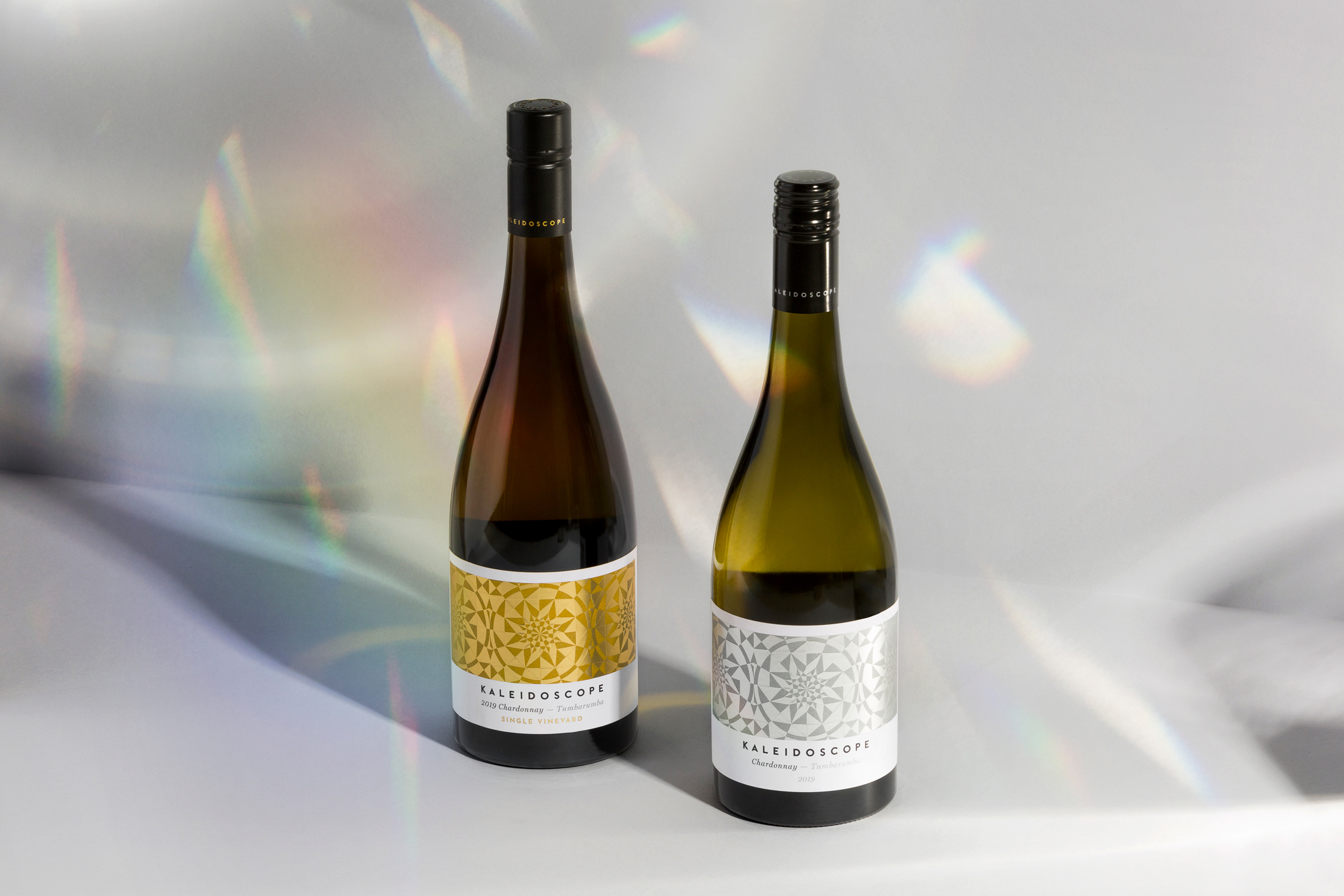 David Byerlee Design Creates Label Design for Kaleidoscope Wines