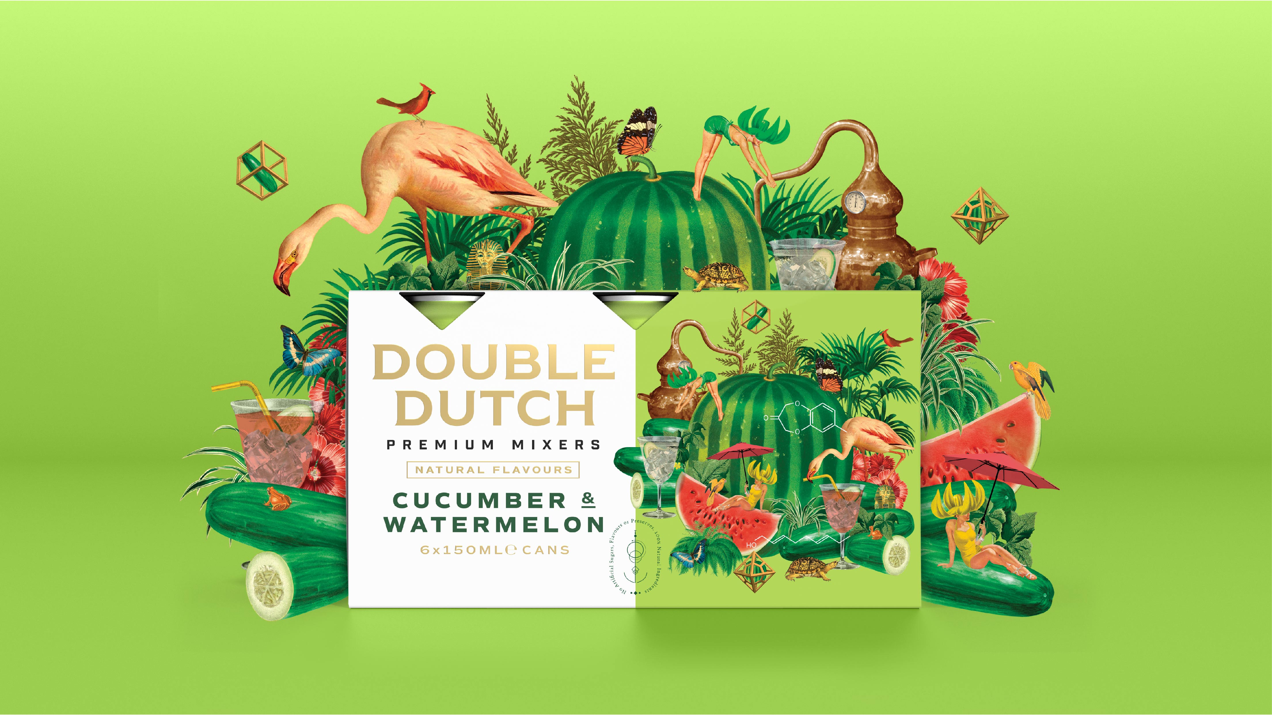 Boundless Brand Design and Double Dutch Launch Tasty Rebrand