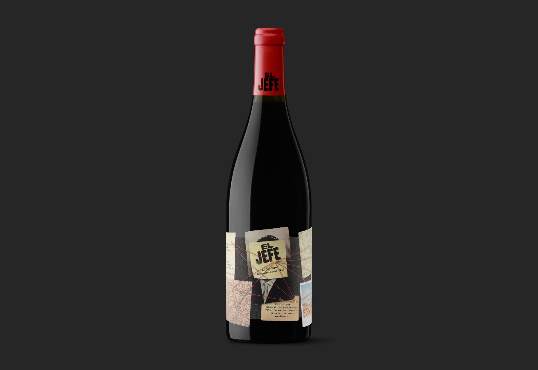 El Jefe Wine Packaging Design by Moruba