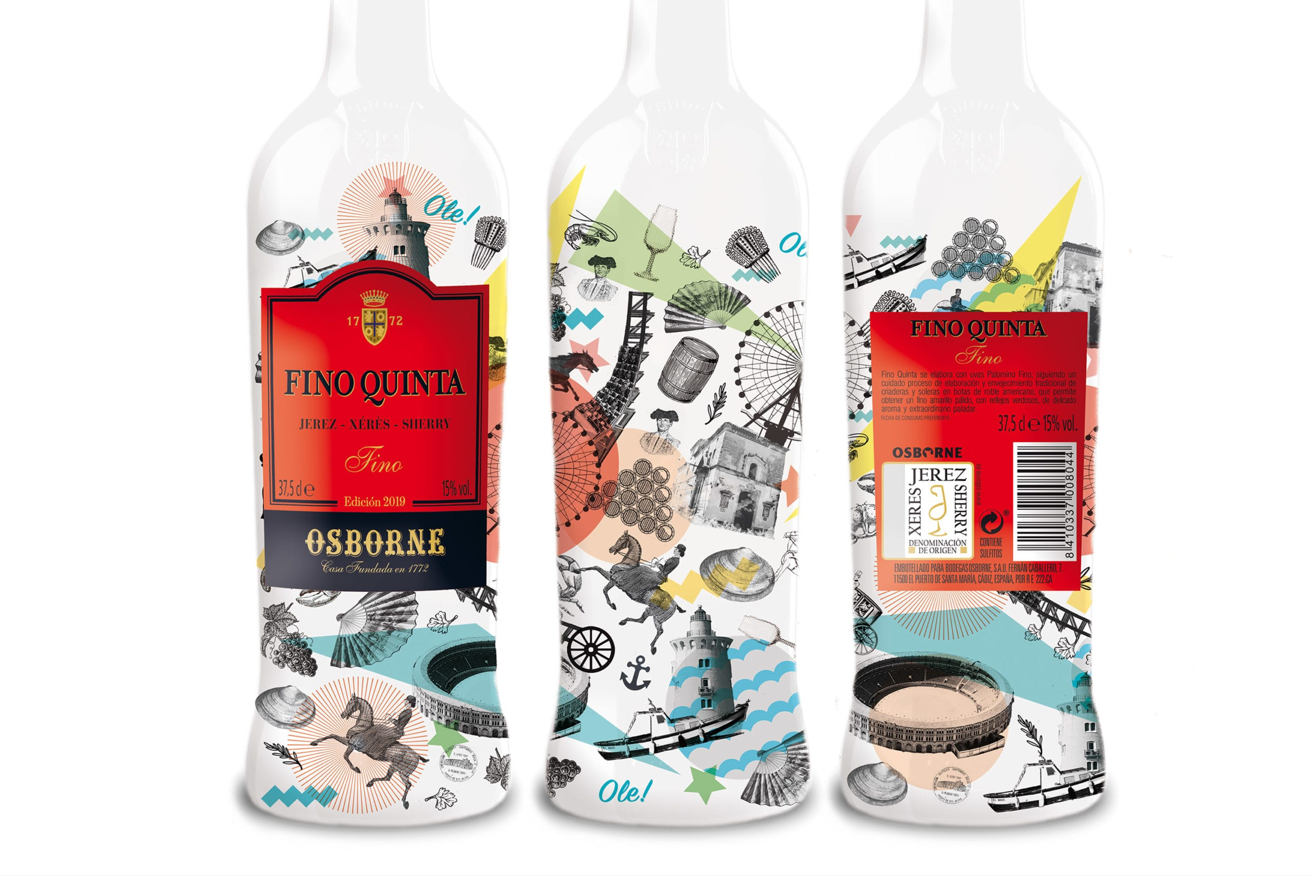 Salvartes Design Create Botella Aniversario Osborne Packaging Design