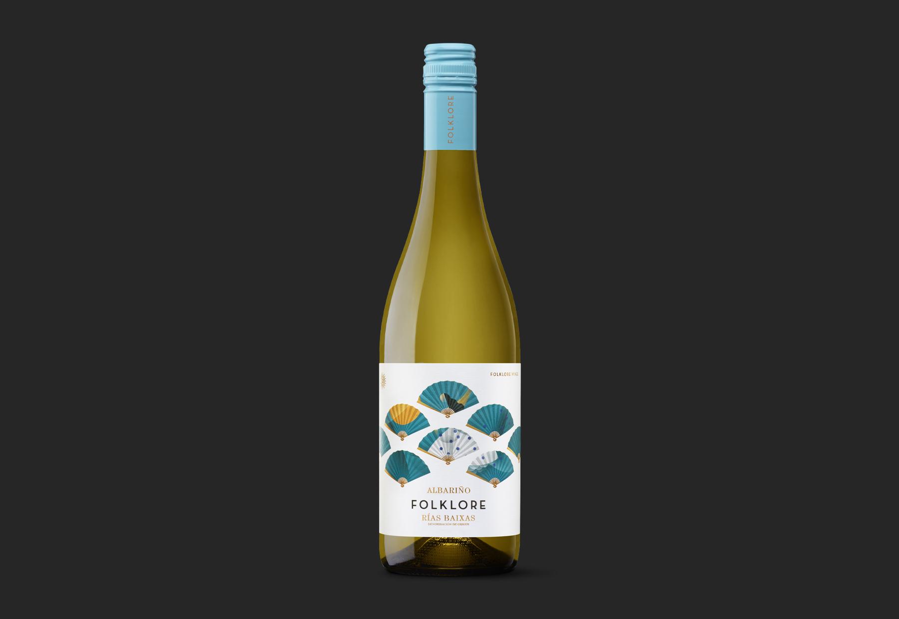 Folklore Albariño Atlantic Passion in a Bottle Designed by Moruba