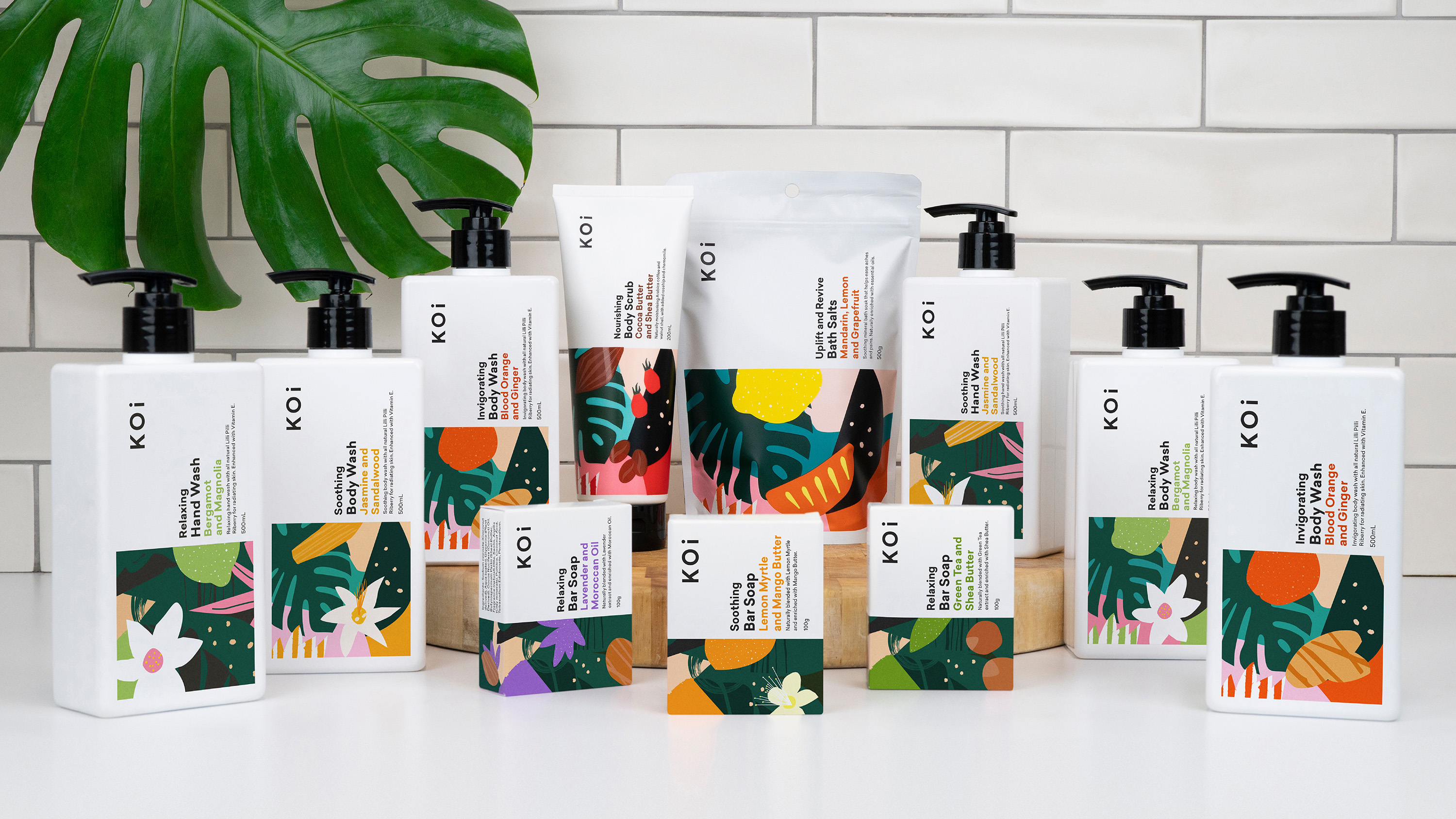 Hulsbosch Creates Coles Premium Skin Care Brand and Packaging
