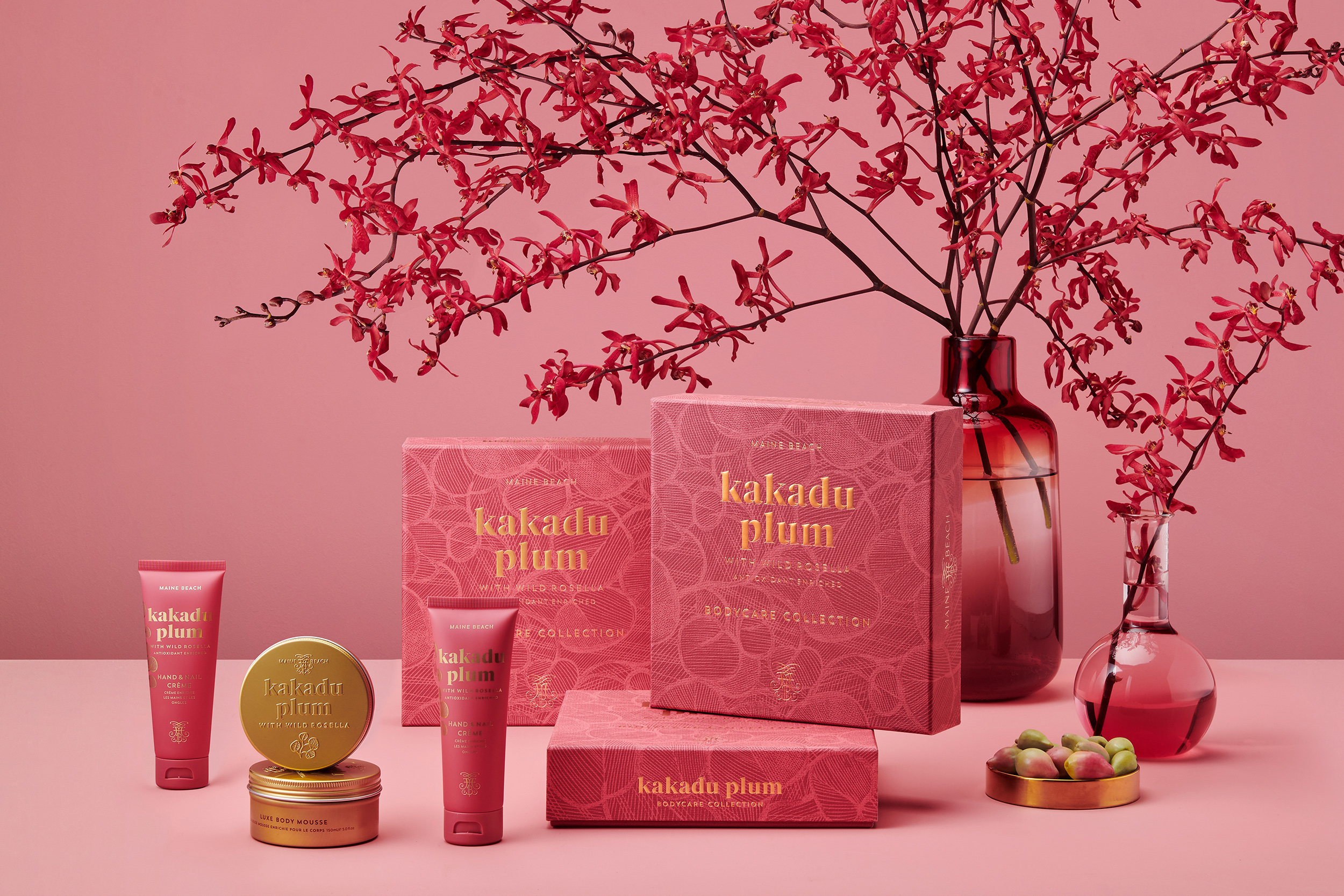 Harcus Design Create Maine Beach Kakadu Plum Bodycare and Home Fragrances Packaging Design