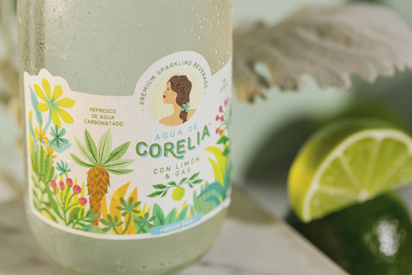 Packaging Design For Sparkling Water From The Colombian Paramos Created by S&Co