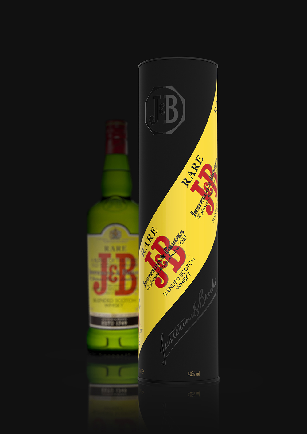 Maison Linea Create J&B Rare Whisky, Giftpack 2020 for Diageo France