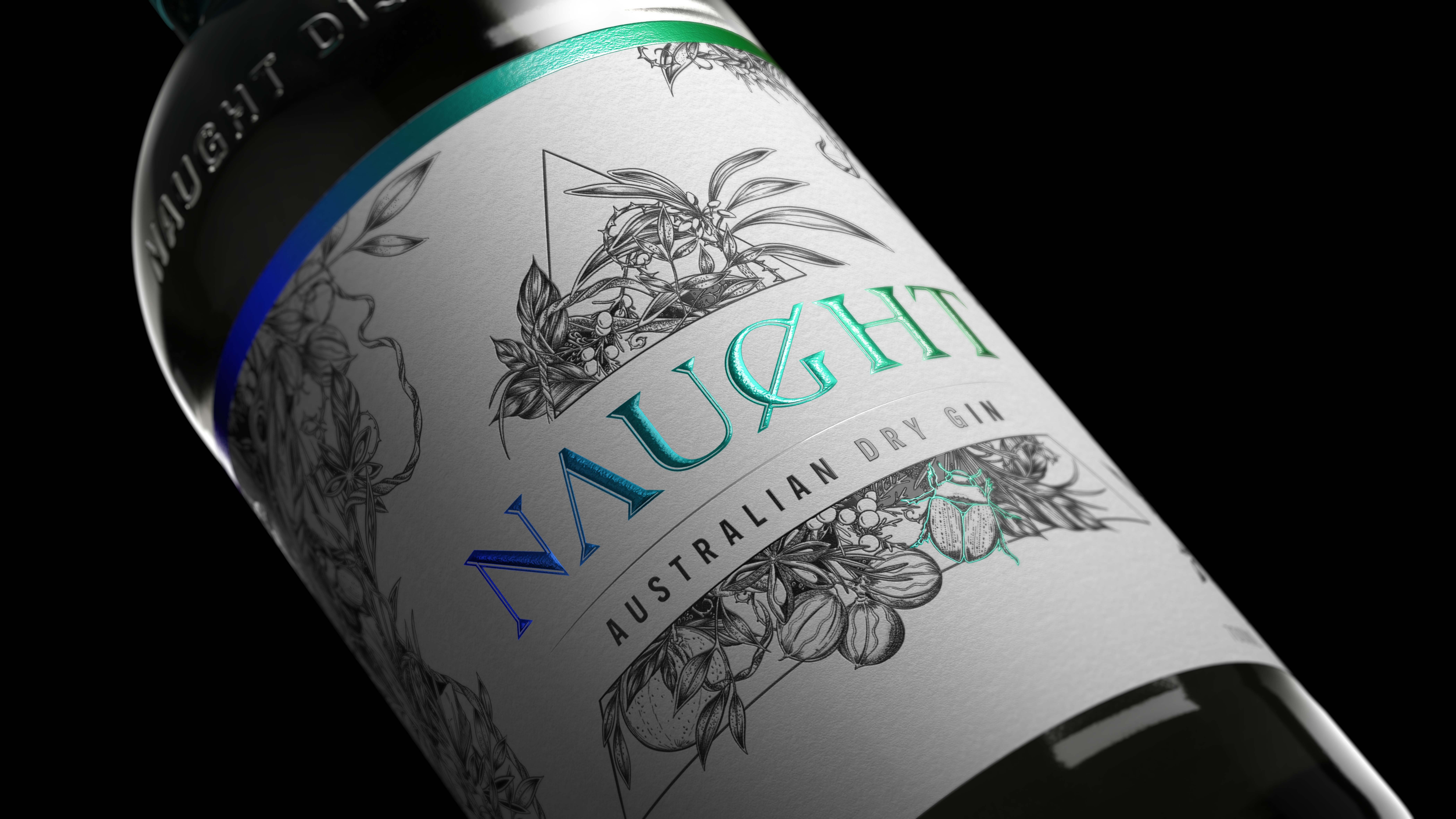 Naught – An All New Australian Dry Gin Designed by Carrousel