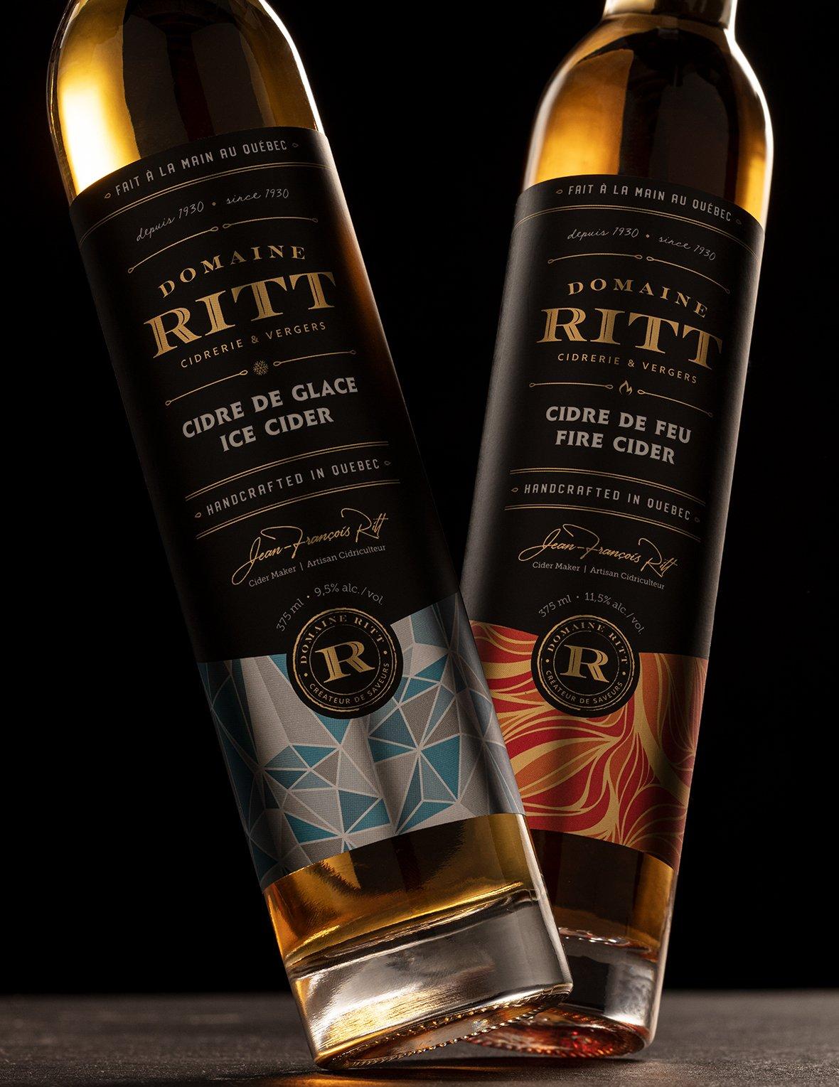 Packaging Design for Domaine Ritt High-End Cider