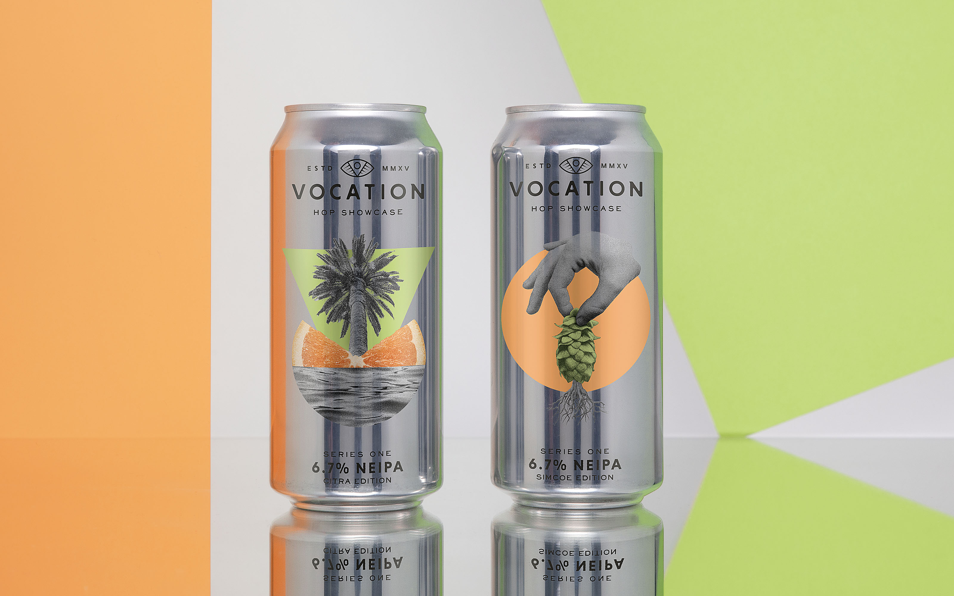 Robot Food Designs Vocation Brewery's Hop Showcase Series