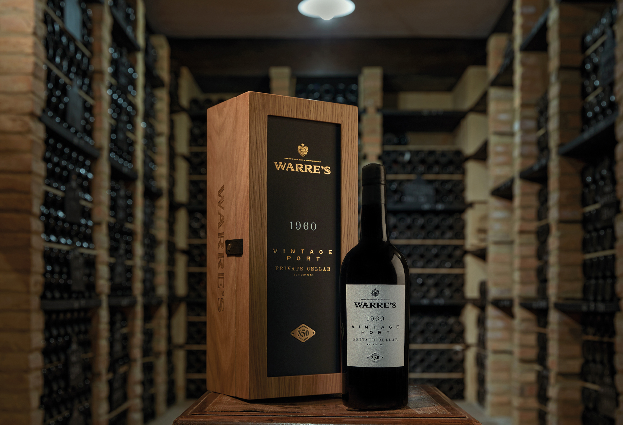 Volta Branding and Packaging Design Opens the Doors of Warre's Private Cellar