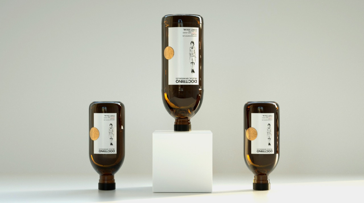 Hi! Estudio Design Brand and Packaging Design for Doctrino Mezcal Sin Modales