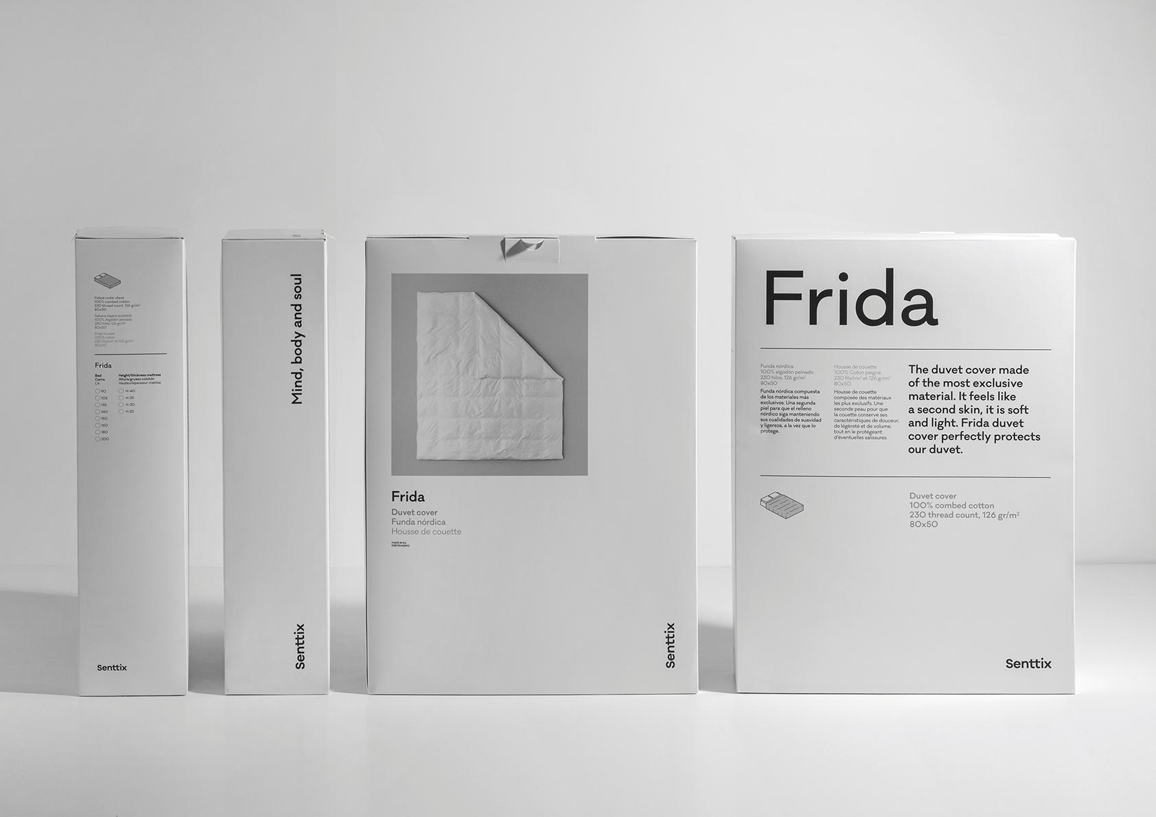 Estándar Estudio Designs the New Senttix Brand Packaging Line for Senttix Bedding