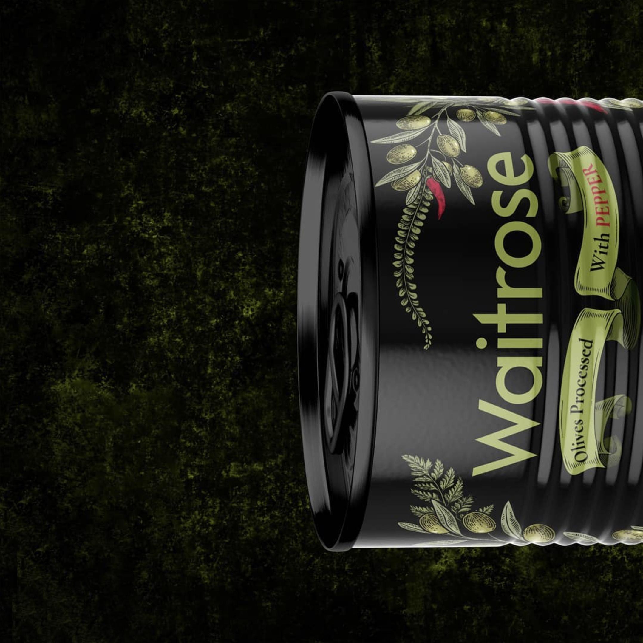 Seyed Sajad Izadi Create Concept Waitrose Olive Packaging Design